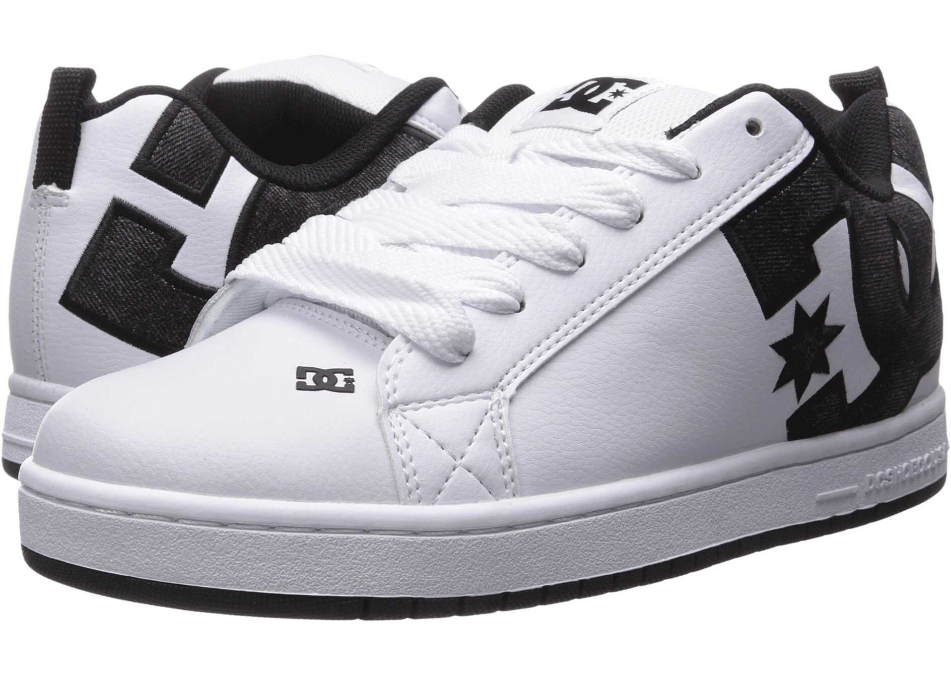 DC Court Graffik SE White/Grey/Black
