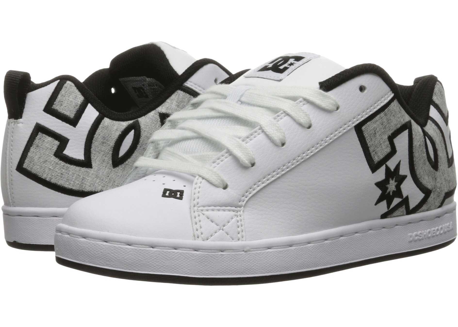 DC Court Graffik SE W White/Charcoal