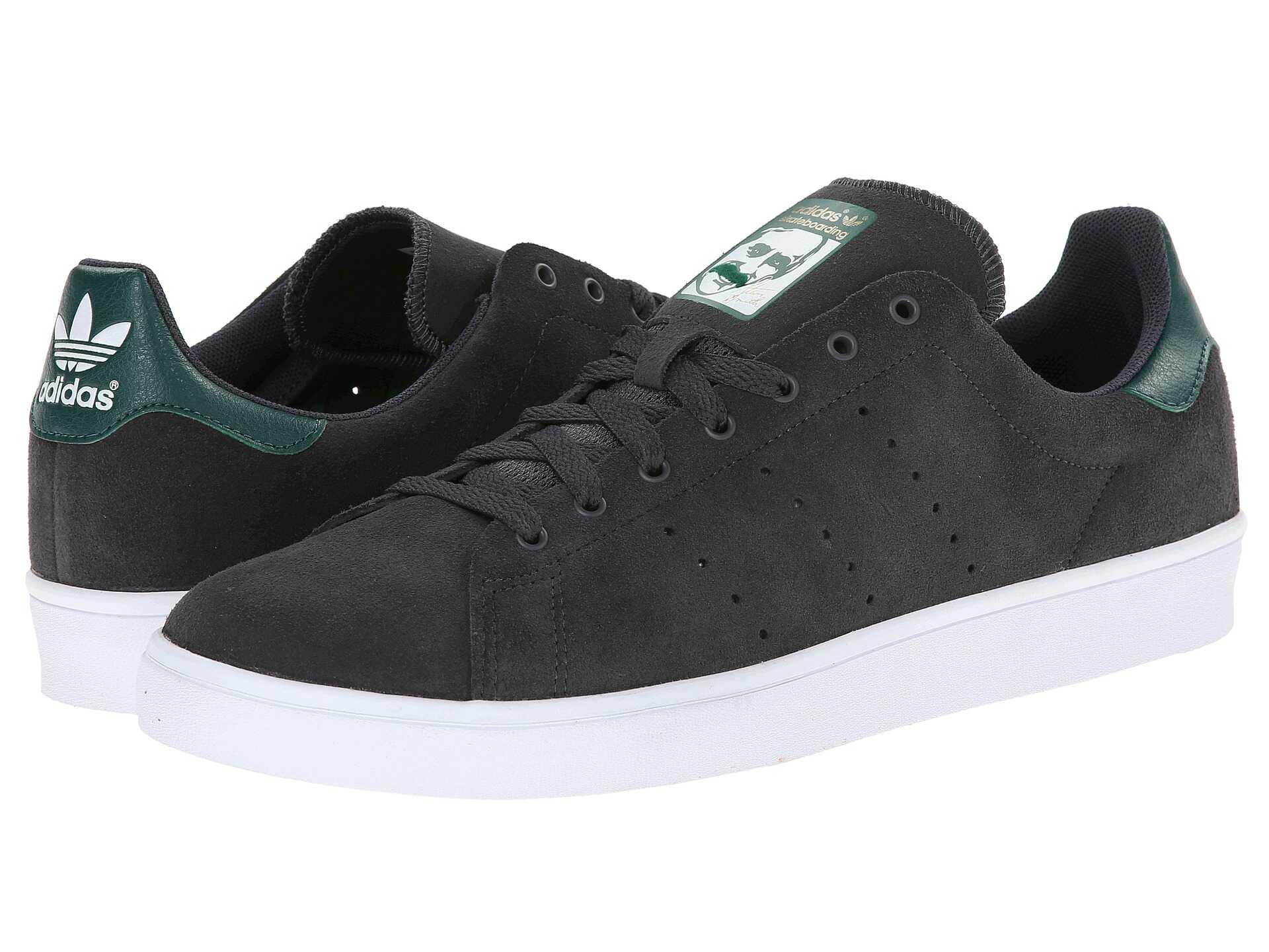 Adidas Skateboarding Stan Smith Vulc Dgh Solid Grey/st Forest Night/white