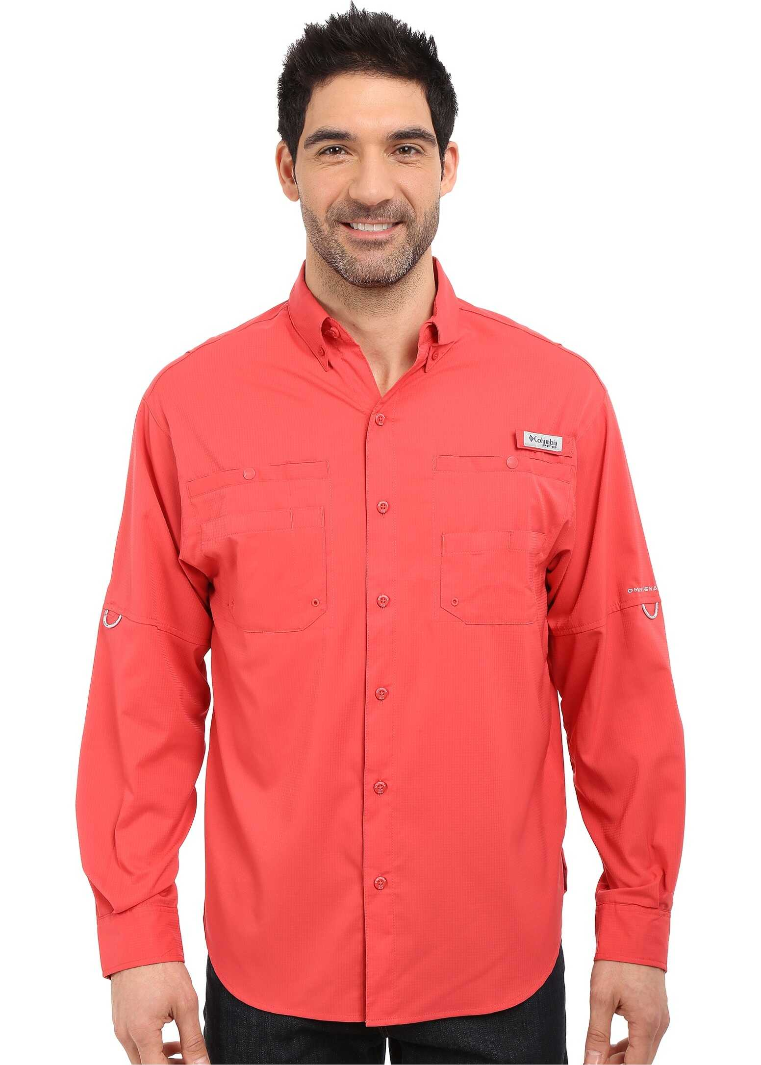 Columbia Tamiami™ II L/S Sunset Red