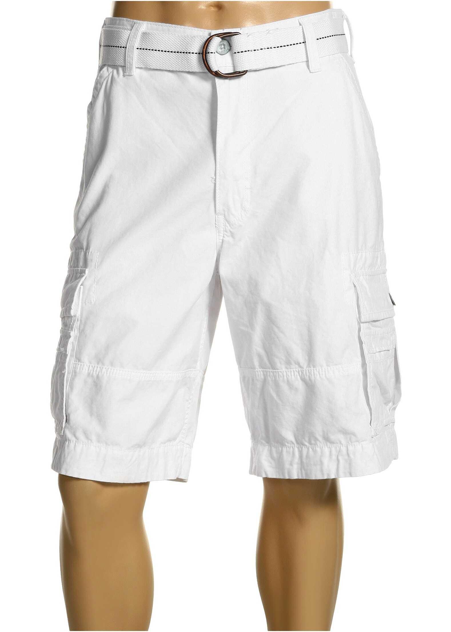 Levis® Mens Squad Cargo Short White