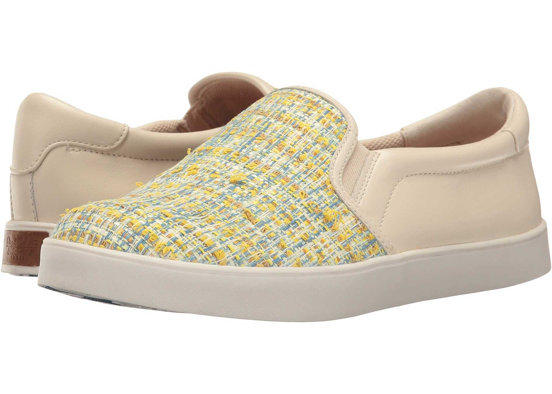 Dr. Scholls Scout - Original Collection Yellow Multi/Ivory Tweed