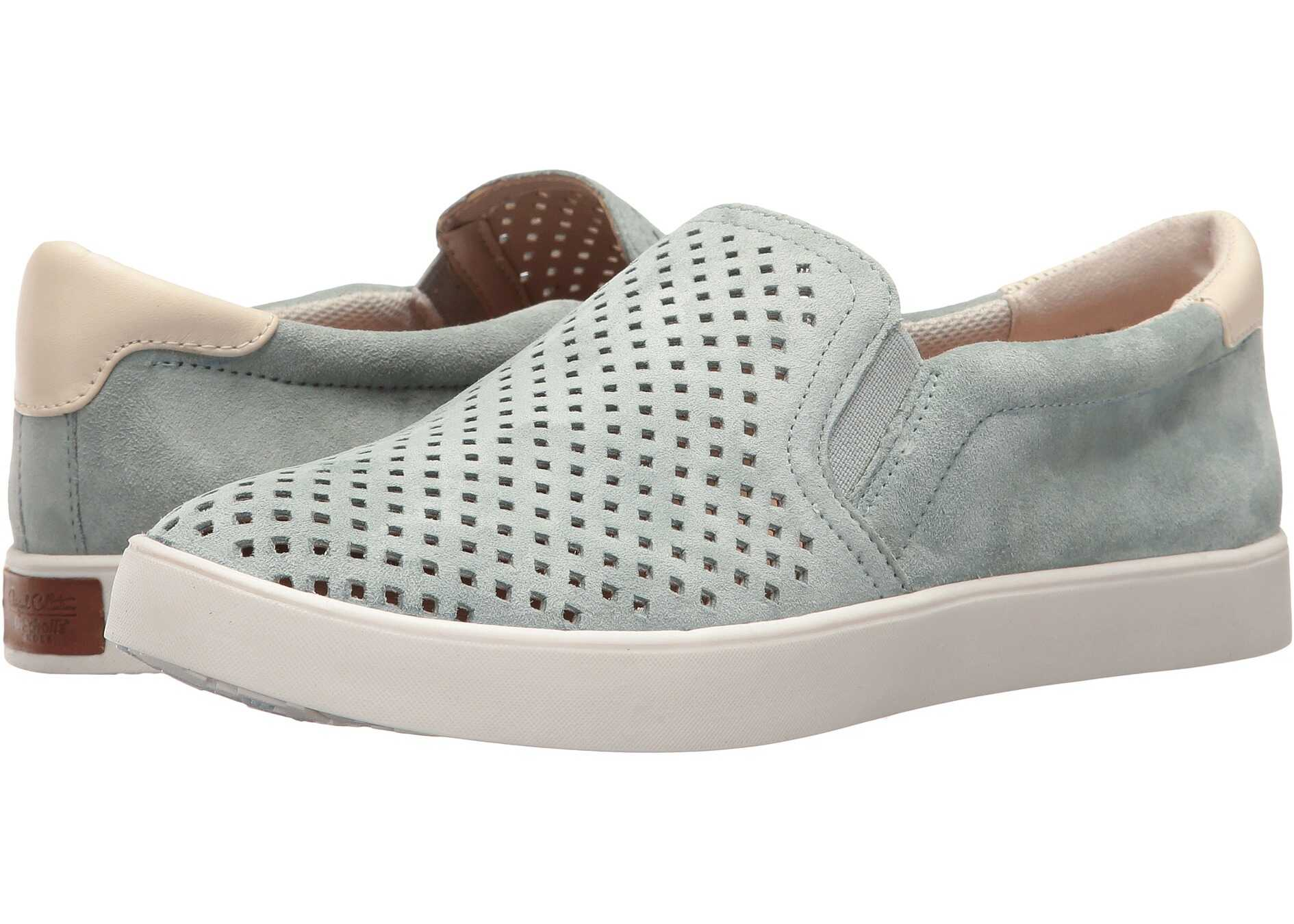 Dr. Scholls Scout - Original Collection Eggshell Blue Suede Perf
