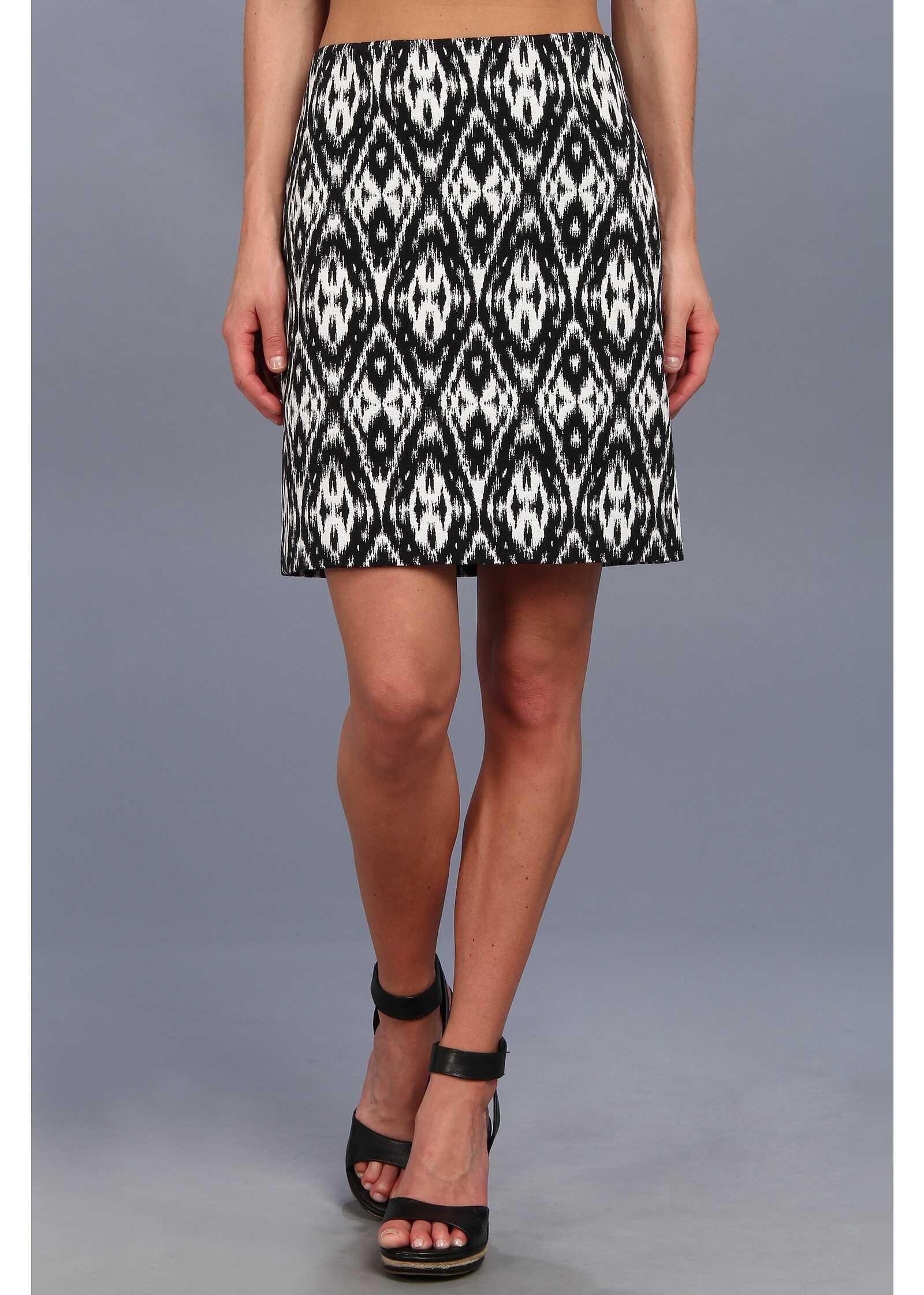Vince Camuto Navajo Jacquard Skirt* Black