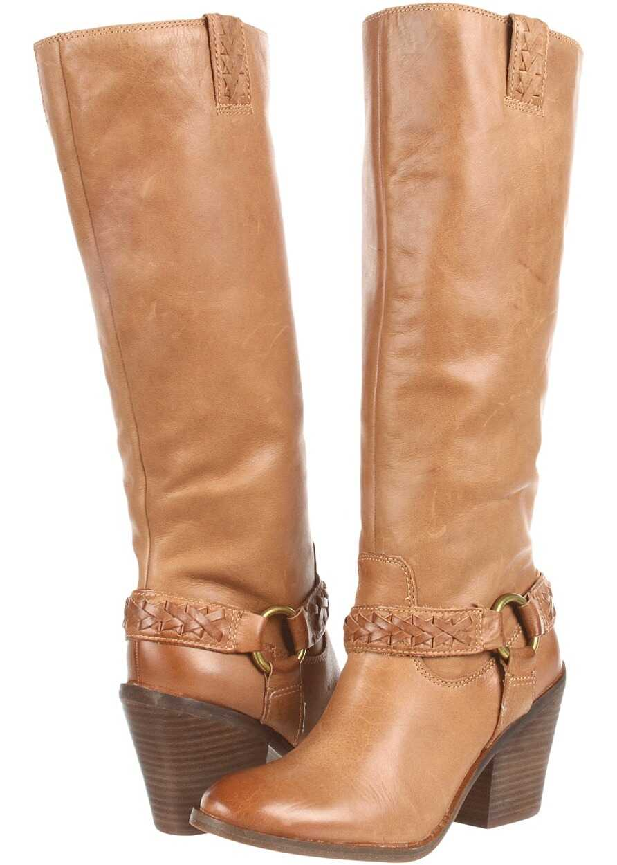 Lucky Brand Ethelda Boot* Dark Camel