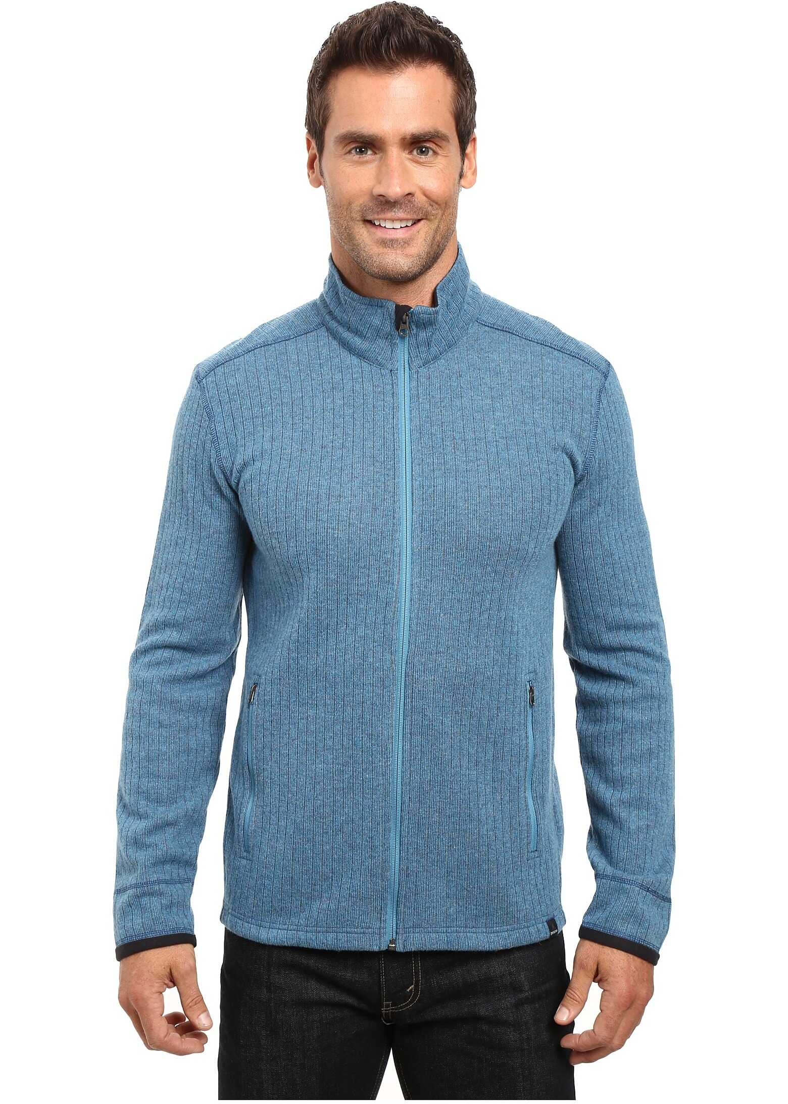 Prana Barclay Sweater Mosaic Blue