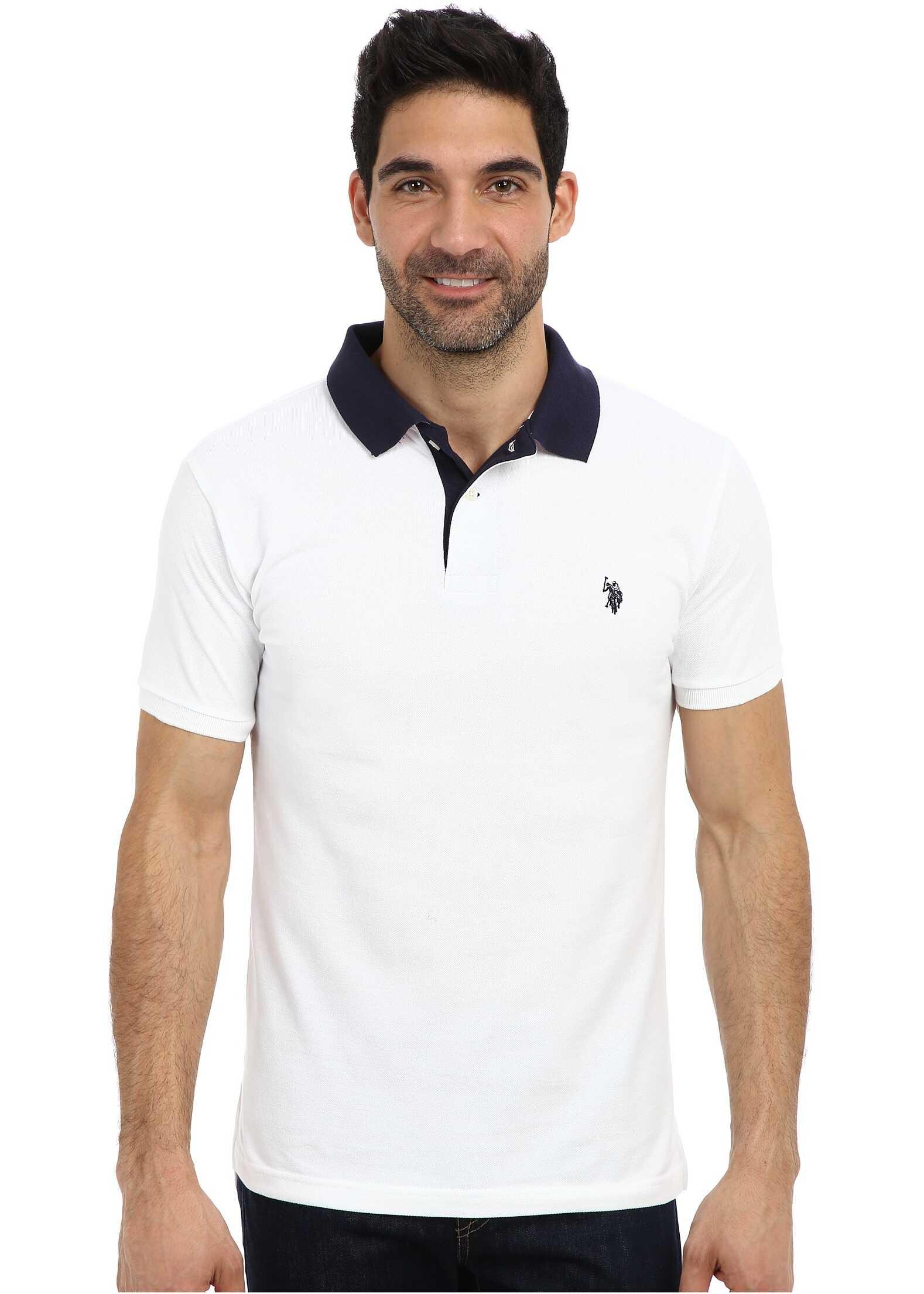 Tricou Polo Barbati U.s. Polo Assn. Slim Fit Solid