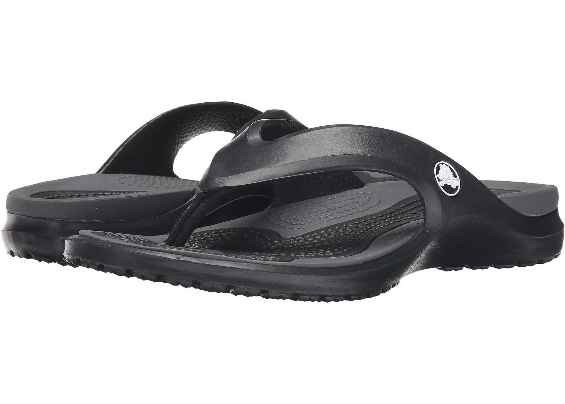 Slapi Barbati Crocs Modi Flip Black/graphite