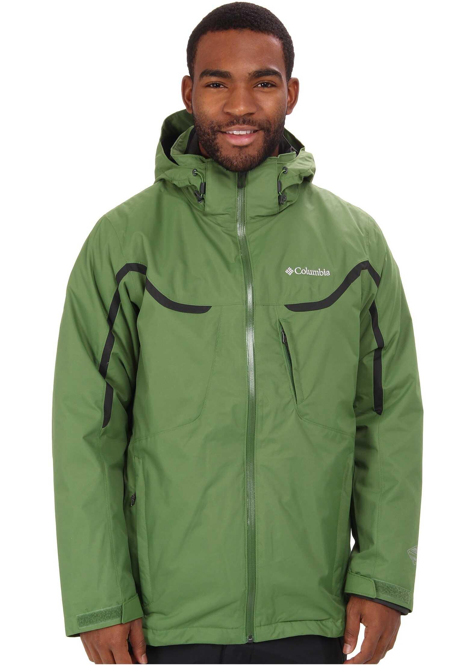 Columbia Whirlibird™ Interchange Jacket Dark Backcountry/Dark Moss/Dark Moss