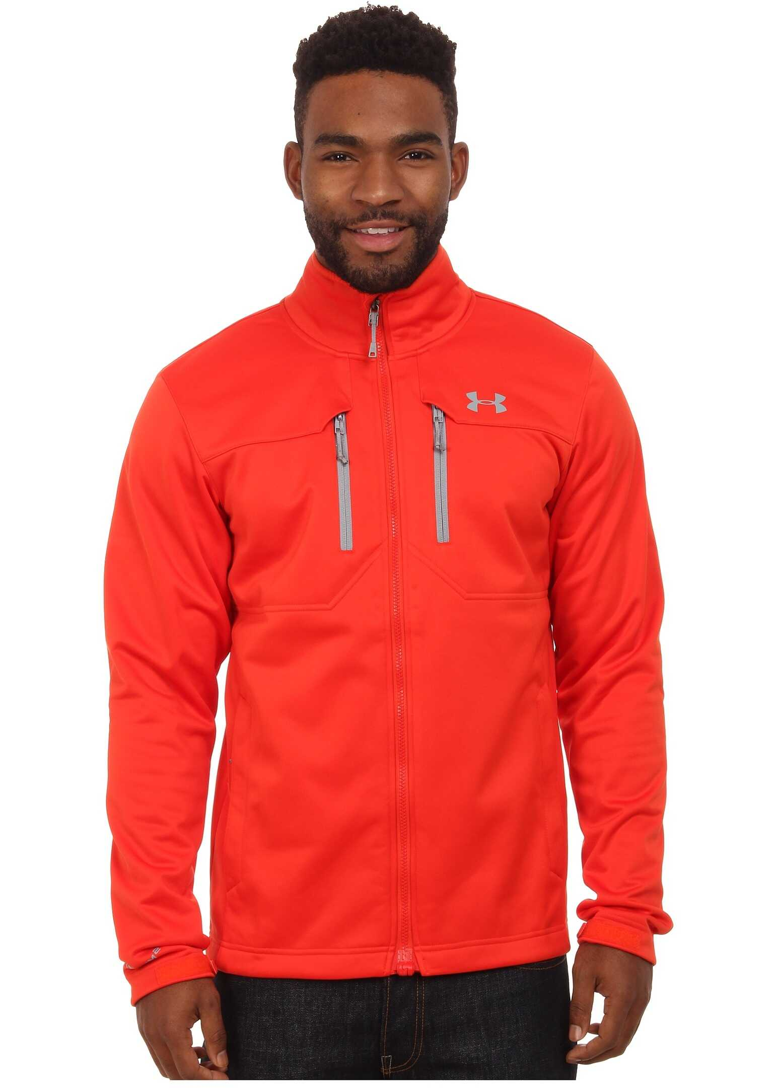 Under Armour UA Coldgear Infrared Softershell Jacket Fuego