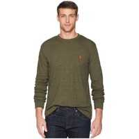 Tricouri Long Sleeve Crew Neck Solid Thermal Shirt Barbati