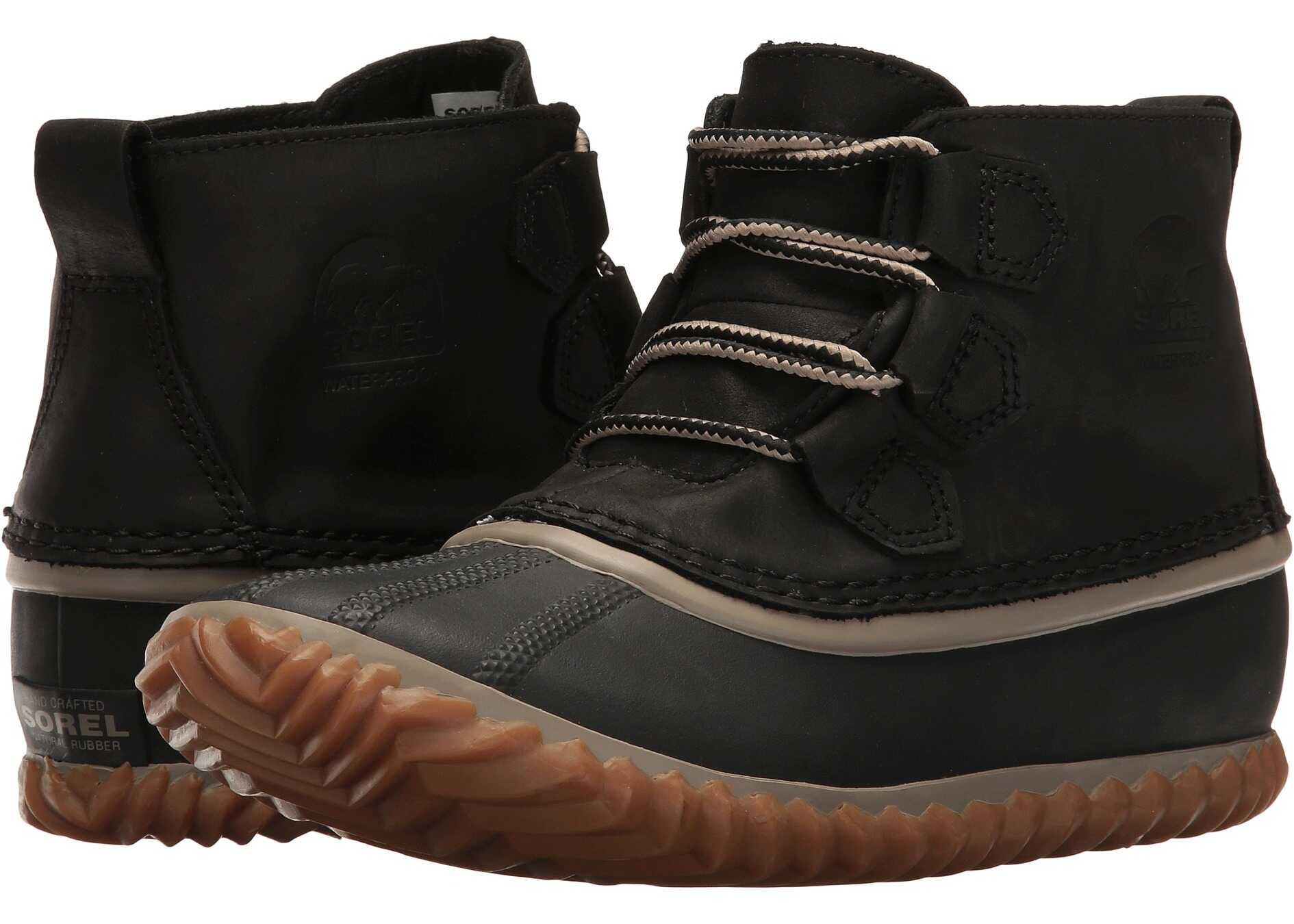 SOREL Out `N About™ Leather Black 3