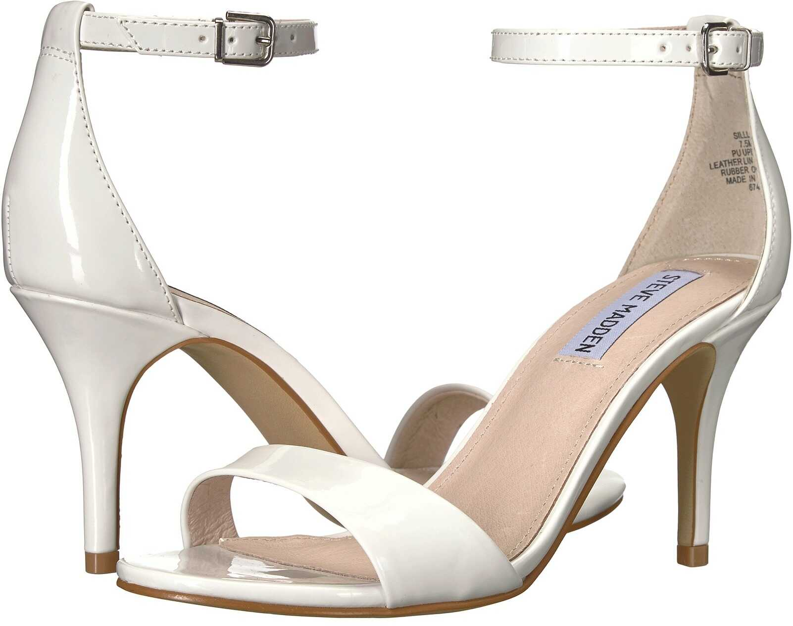 Steve Madden Exclusive - Sillly Sandal White Patent