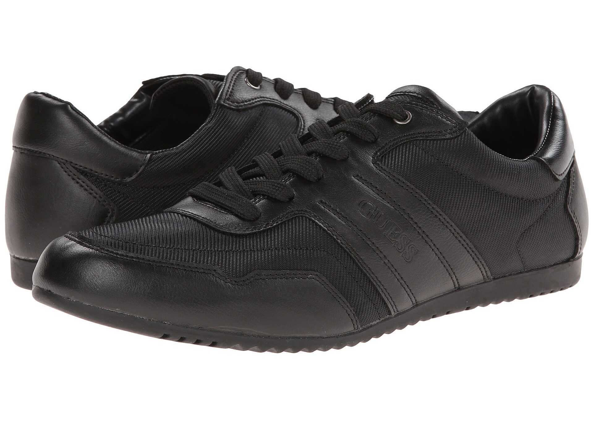 Pantofi Sport Barbati Guess Triston Black Fabric
