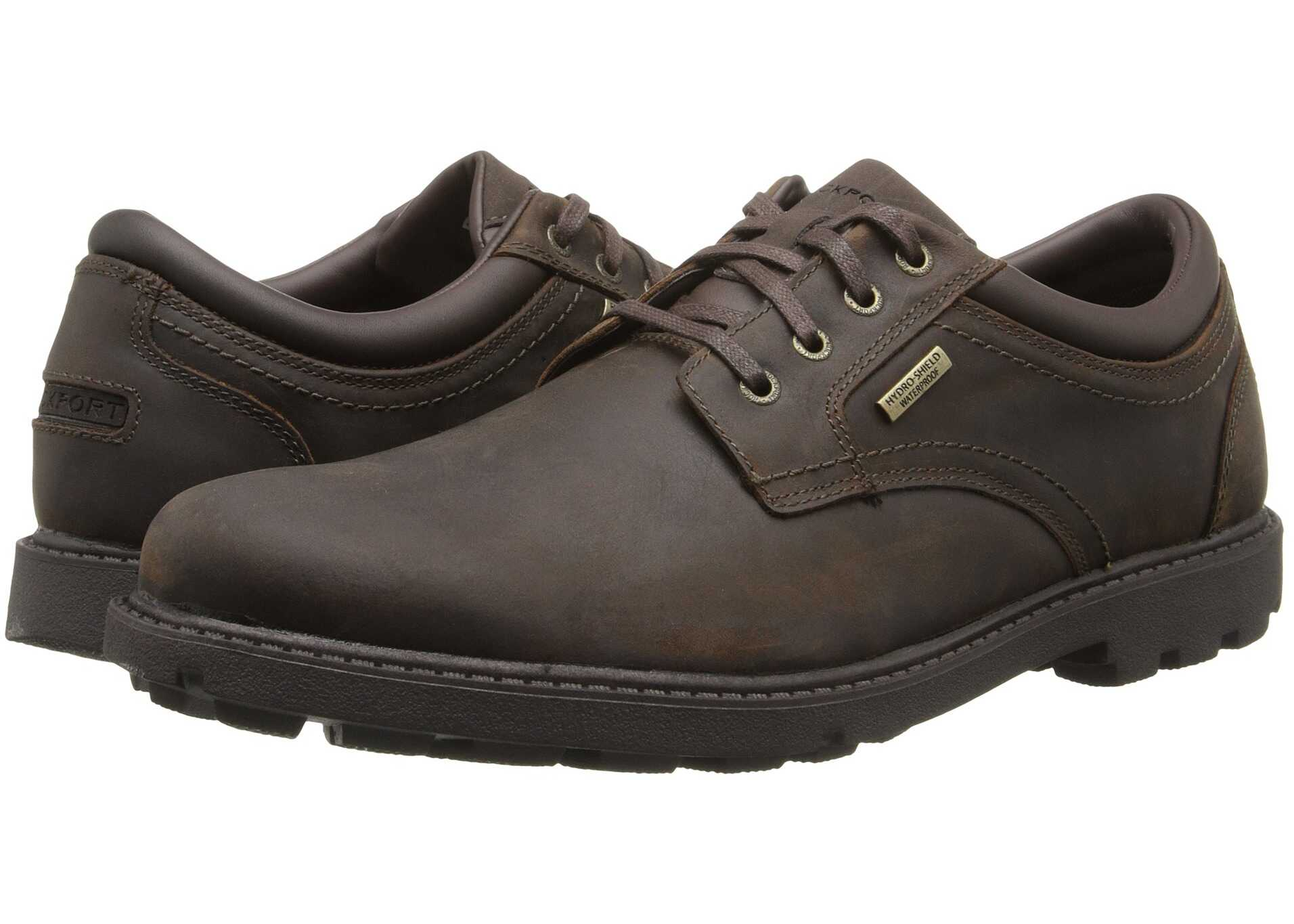 Rockport Storm Surge Water Proof Plain Toe Oxford Tan
