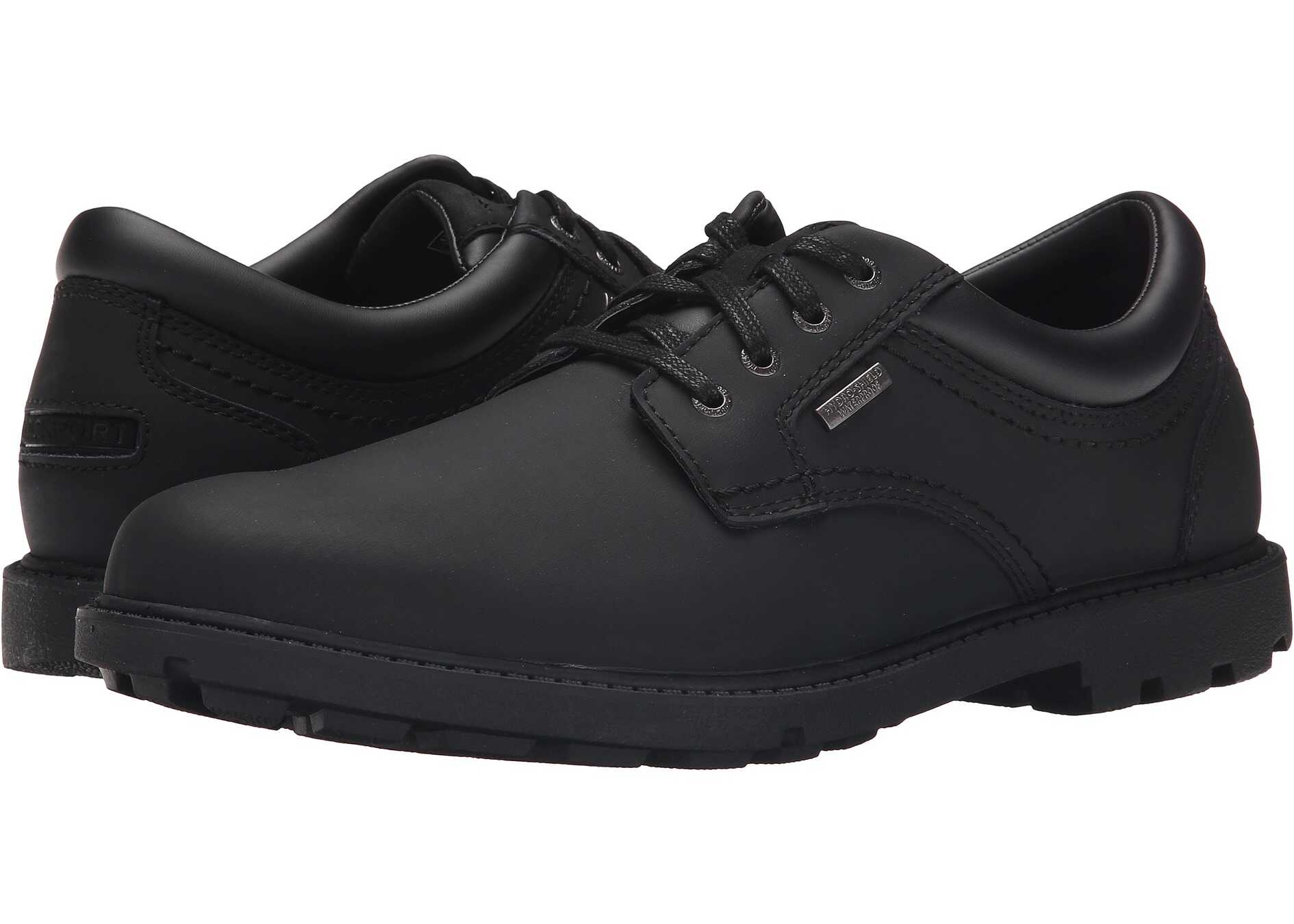 Rockport Storm Surge Water Proof Plain Toe Oxford Black