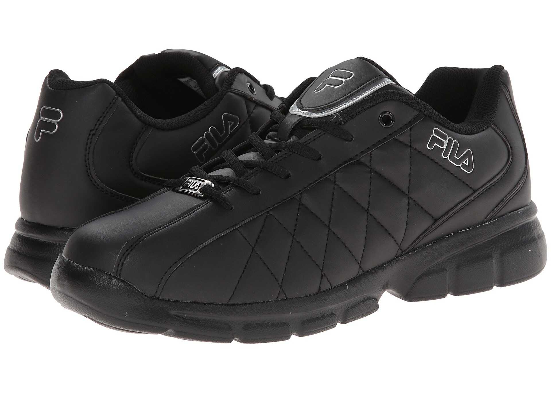 Fila Fulcrum 3 Black/Black/Metallic Silver