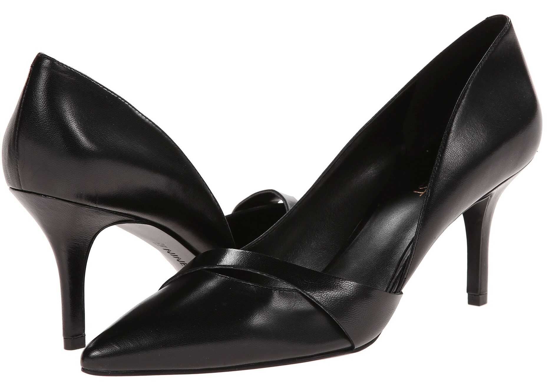Pantofi Cu Toc Nine West Kimery Black Leather