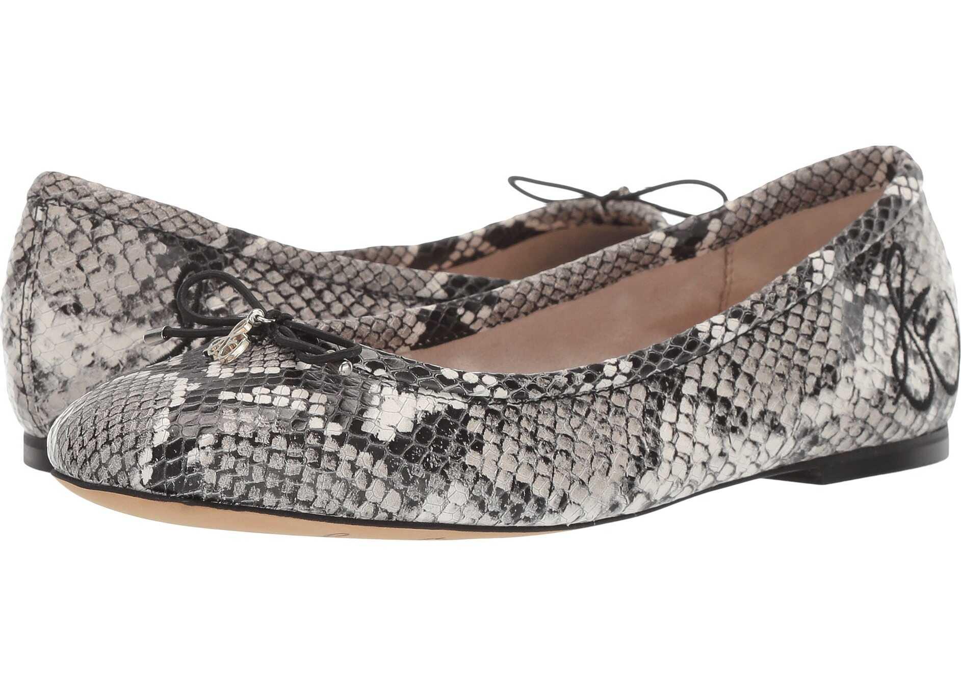 Sam Edelman Felicia Black/White Exotic Snake Print Leather