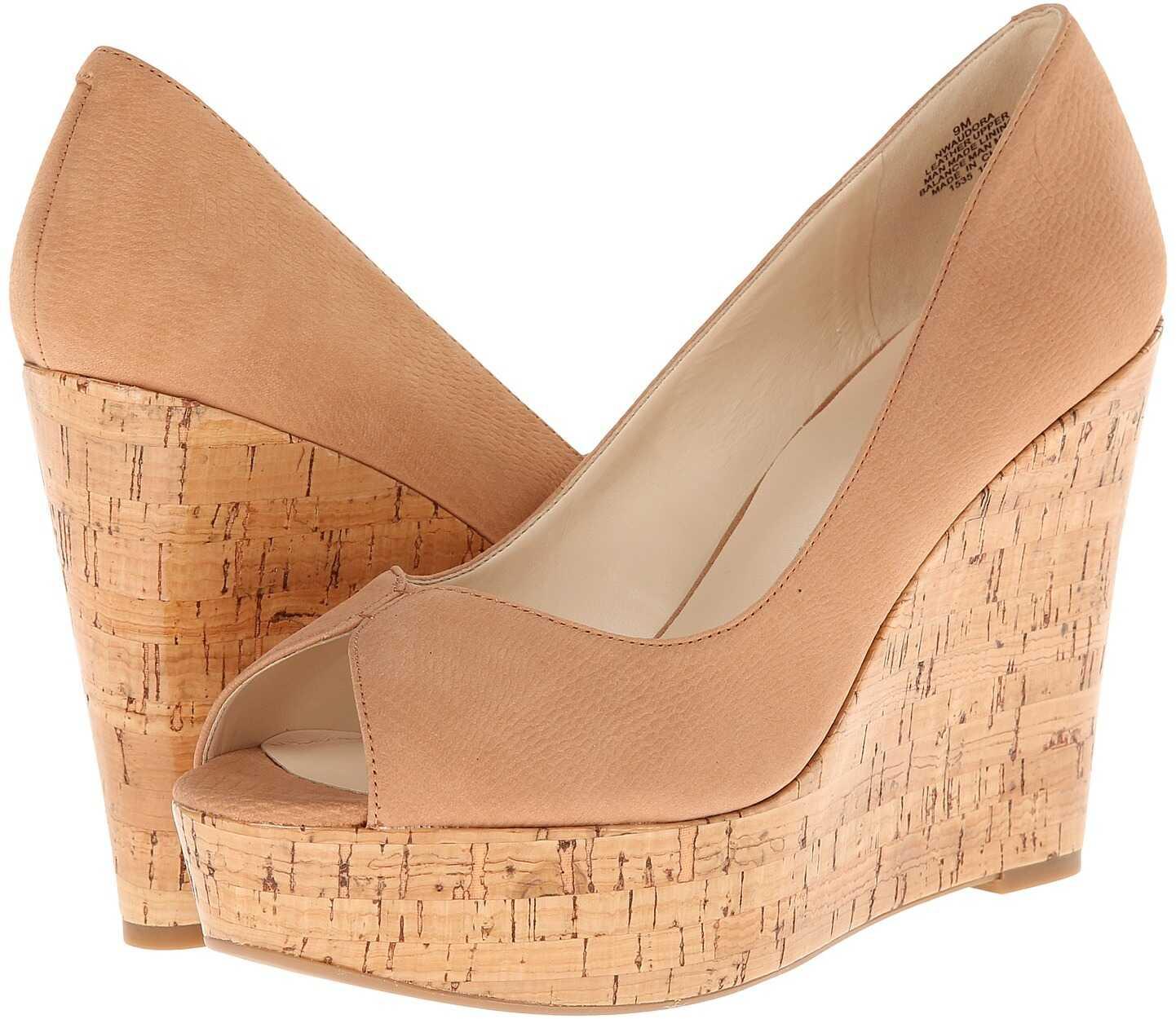 Pantofi Cu Toc Nine West Audora Dark Natural Leath