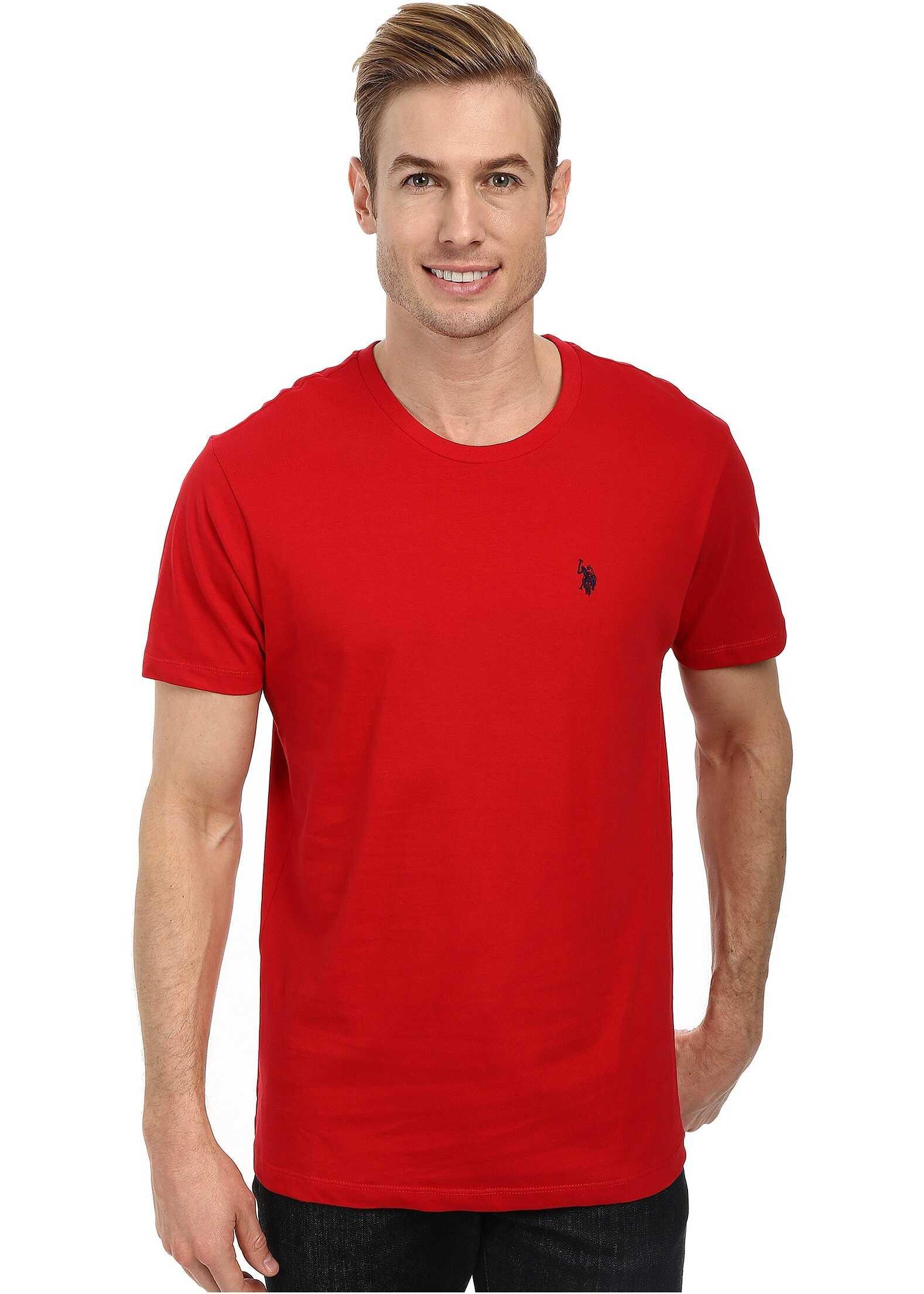 Crew Neck Small Pony T-Shirt