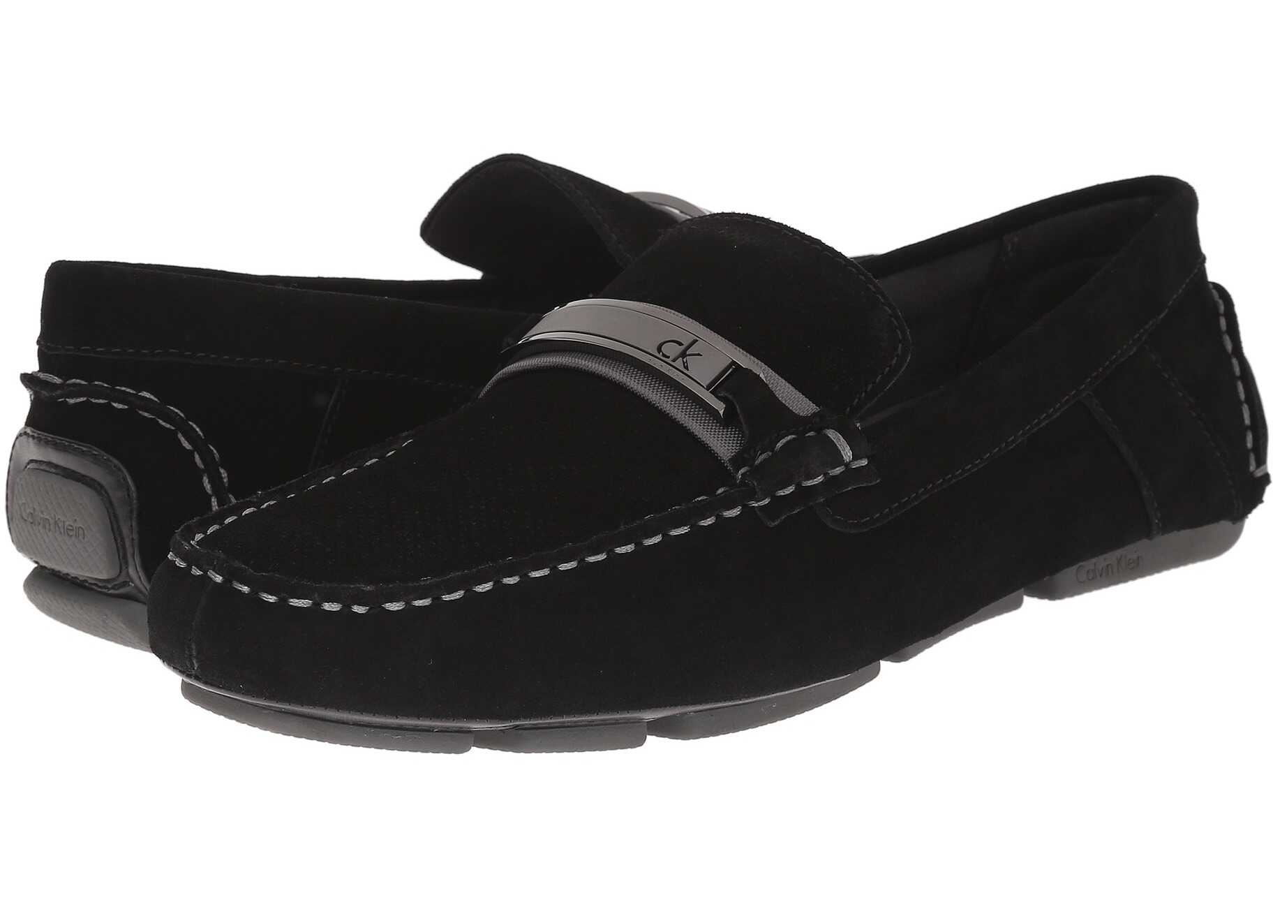 Calvin Klein Marcell Black Perf Suede