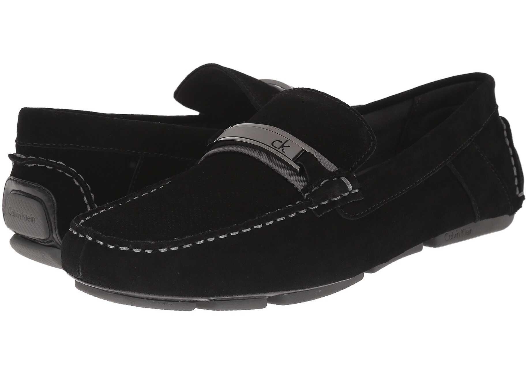 Mocasini Barbati Calvin Klein Marcell Black Perf S