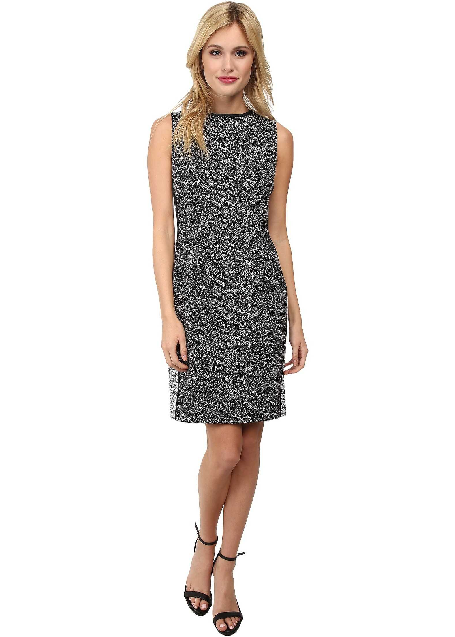 Rochie Femei Calvin Klein Two-tone Sheath Dress W/