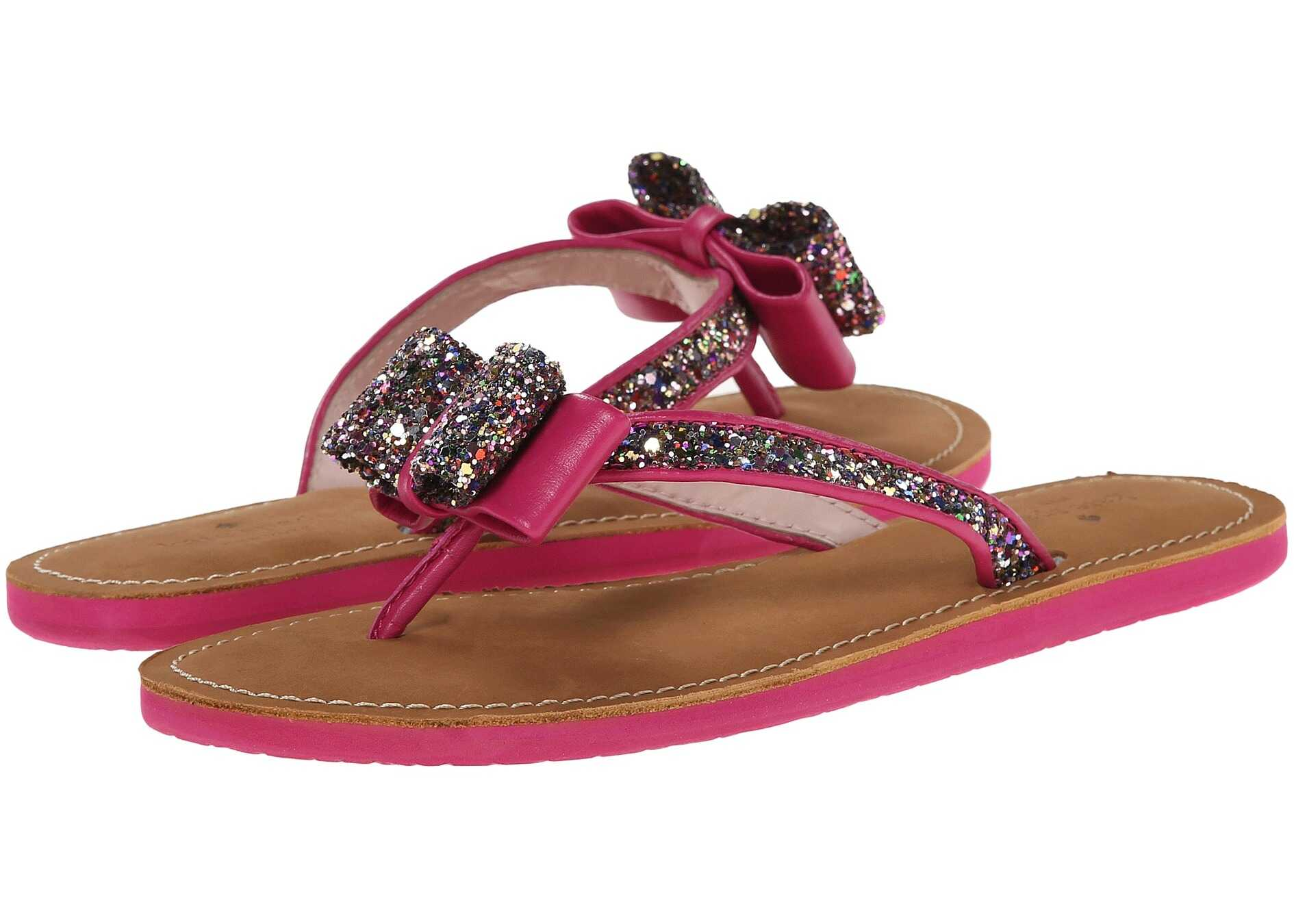 Kate Spade New York Icarda Multi Glitter/Deep Pink Nappa
