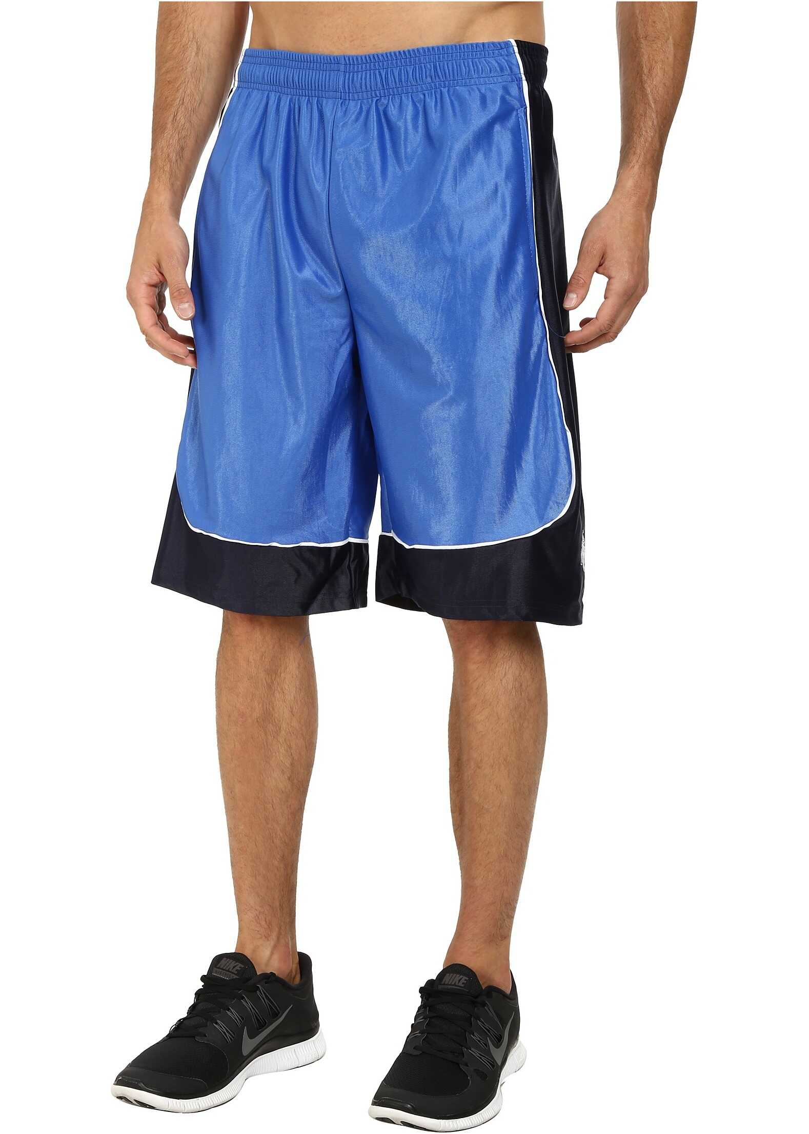 U.S. POLO ASSN. Athletic Shorts with Dazzle Side Panel China Blue