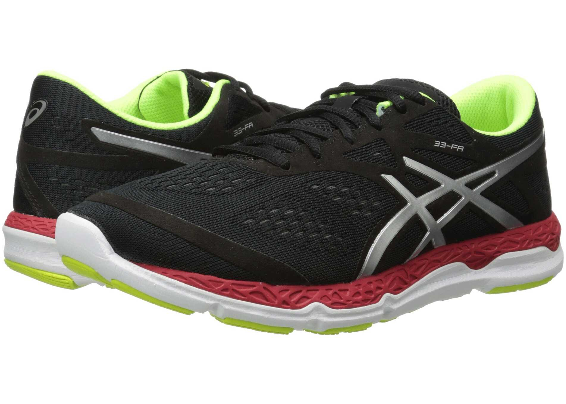 ASICS 33-FA™ Onyx/Flash Yellow/Chinese Red