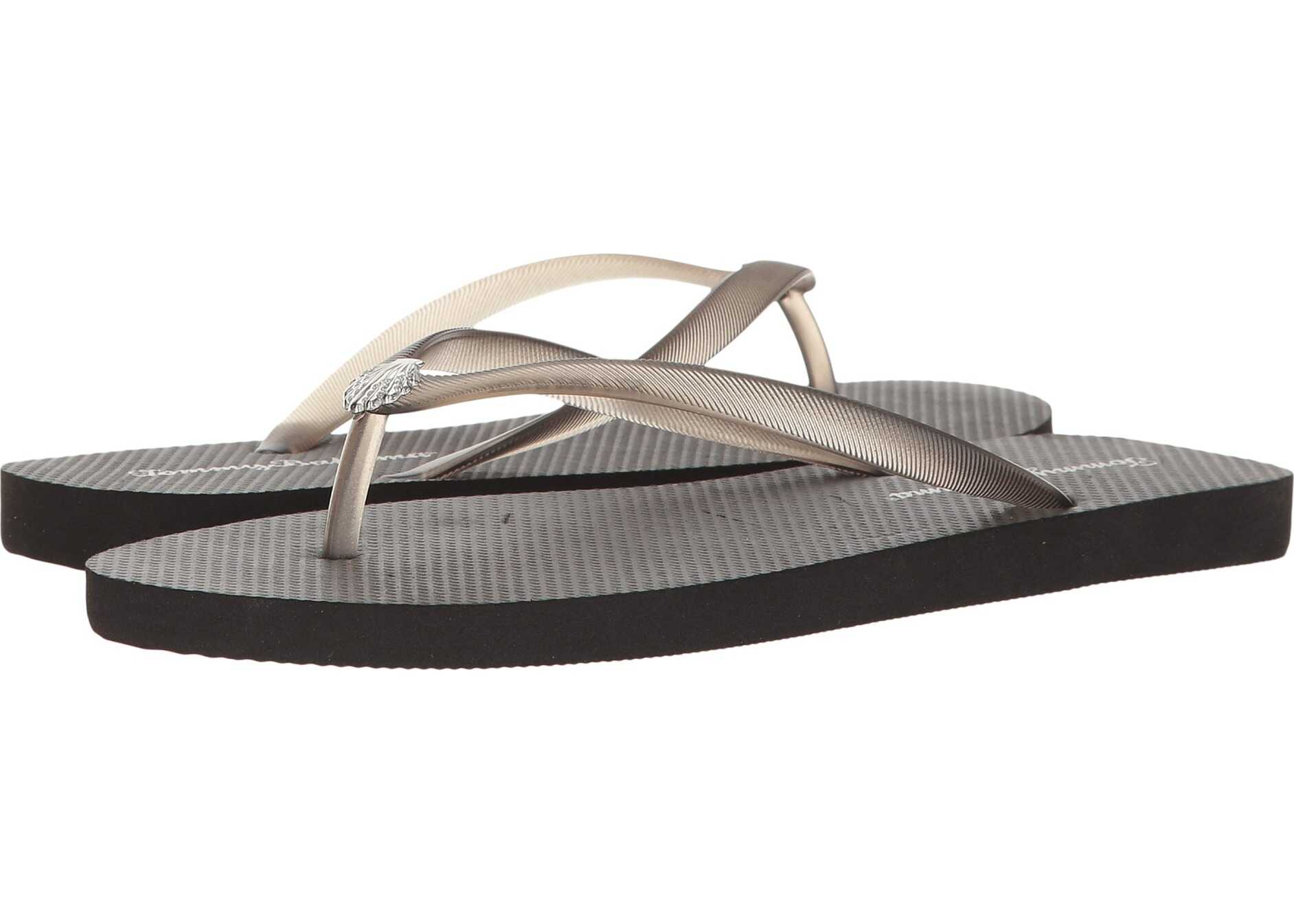 Tommy Bahama Whykiki Flat Solid Black 2