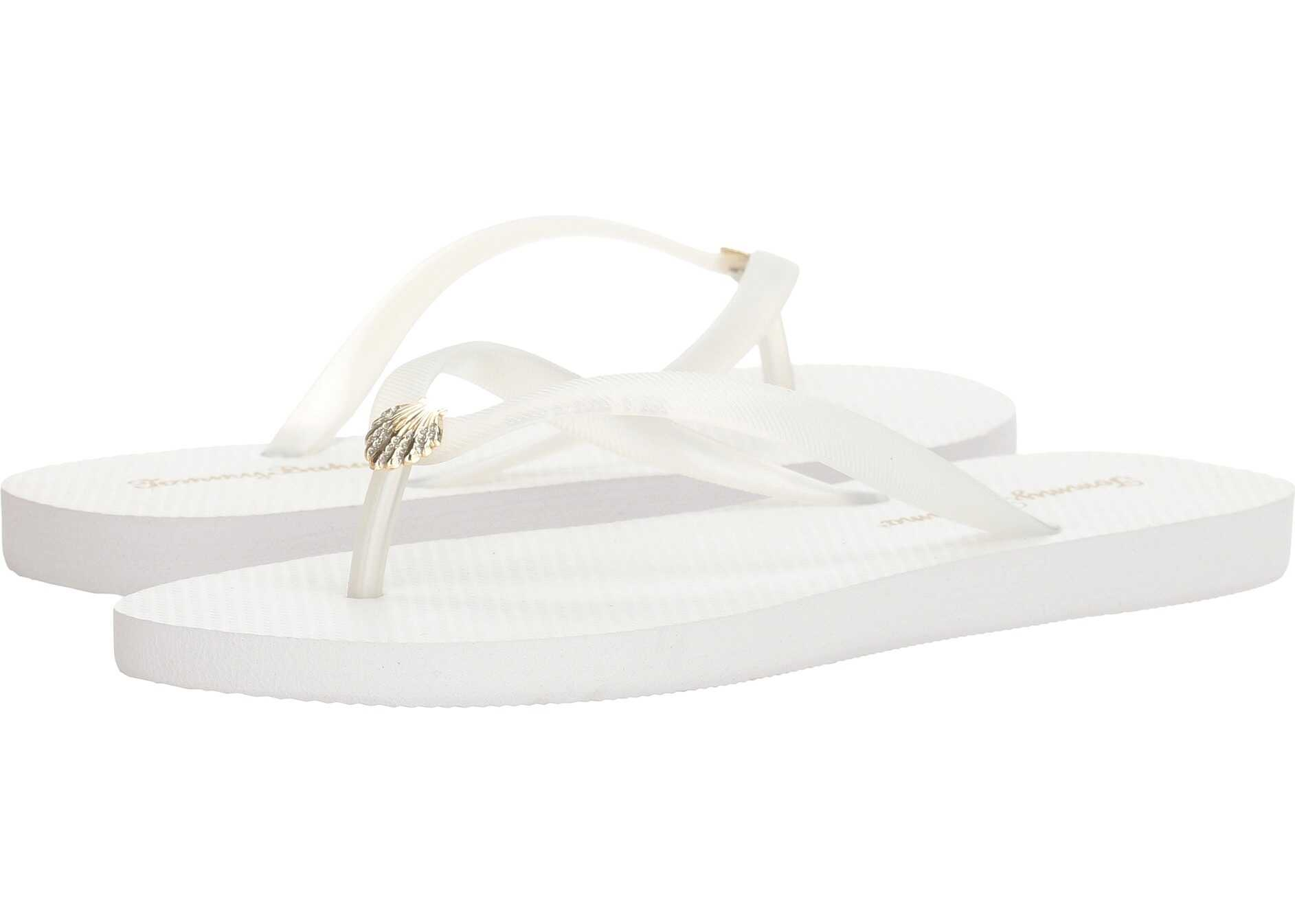 Tommy Bahama Whykiki Flat Solid White 2
