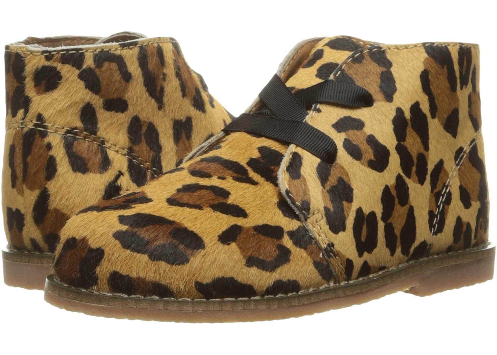 Polo Ralph Lauren Kids Carl (Infant/Toddler) Leopard Haircalf