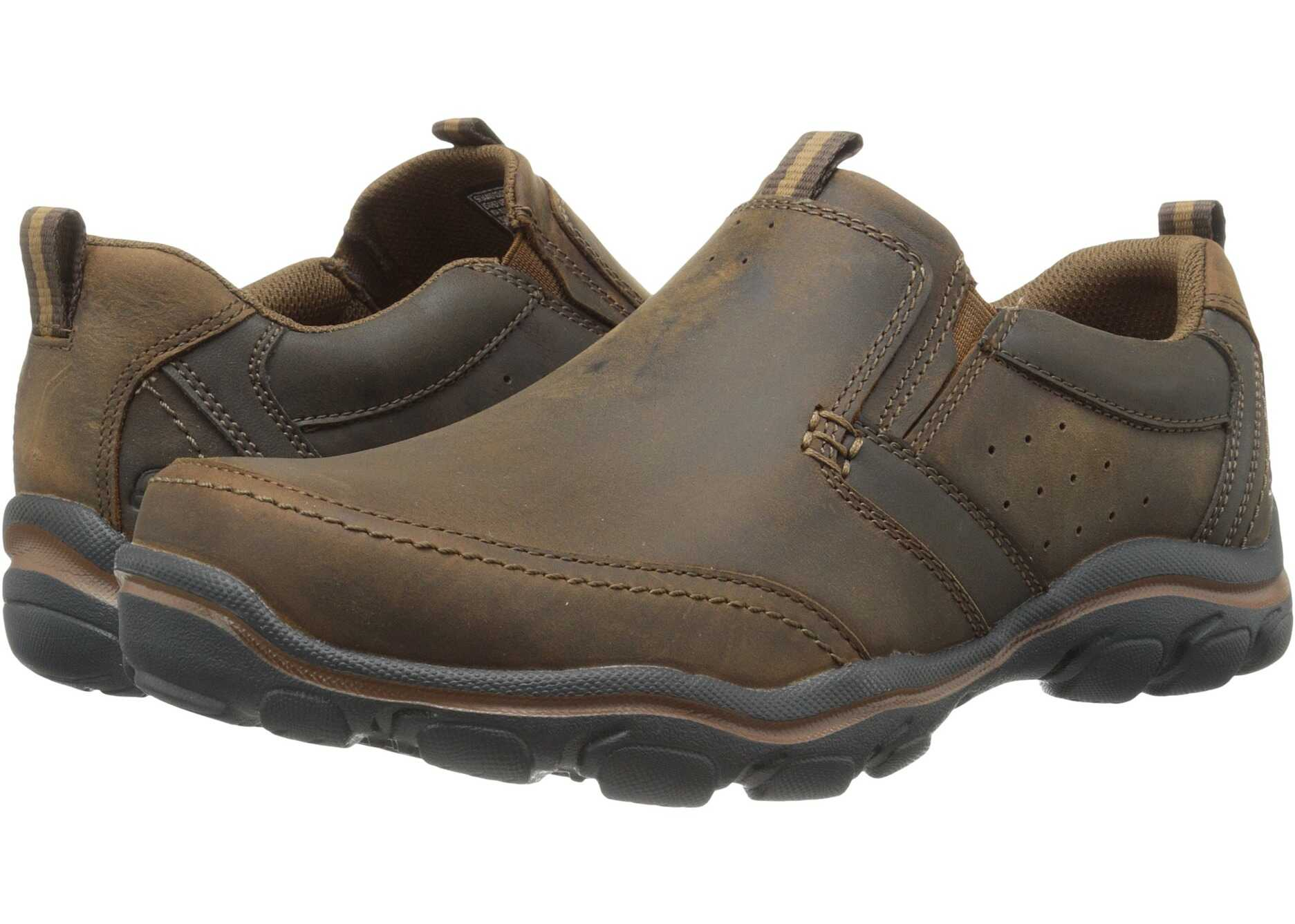 SKECHERS Relaxed Fit Montz - Devent Dark Brown