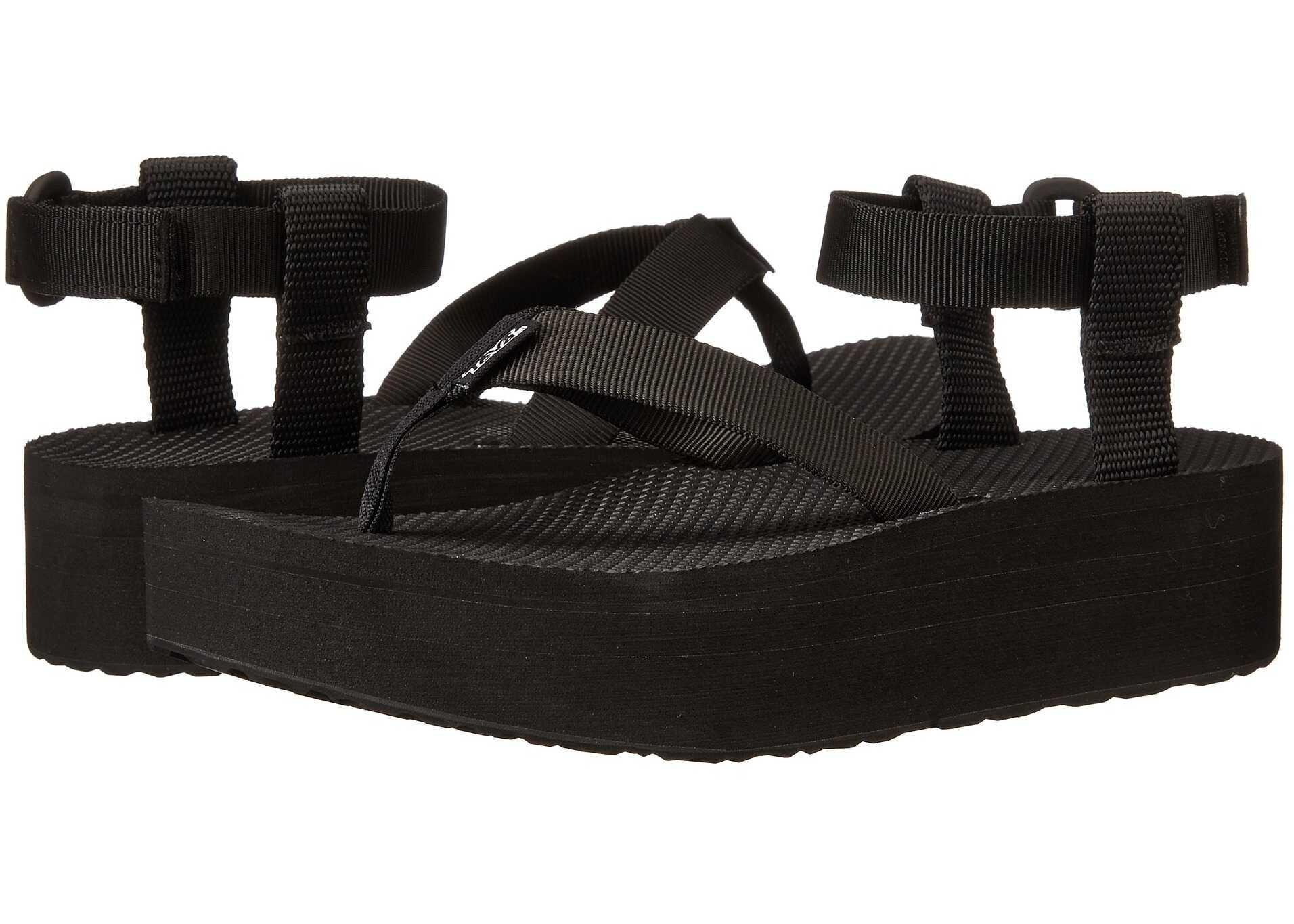 Teva Flatform Sandal Black