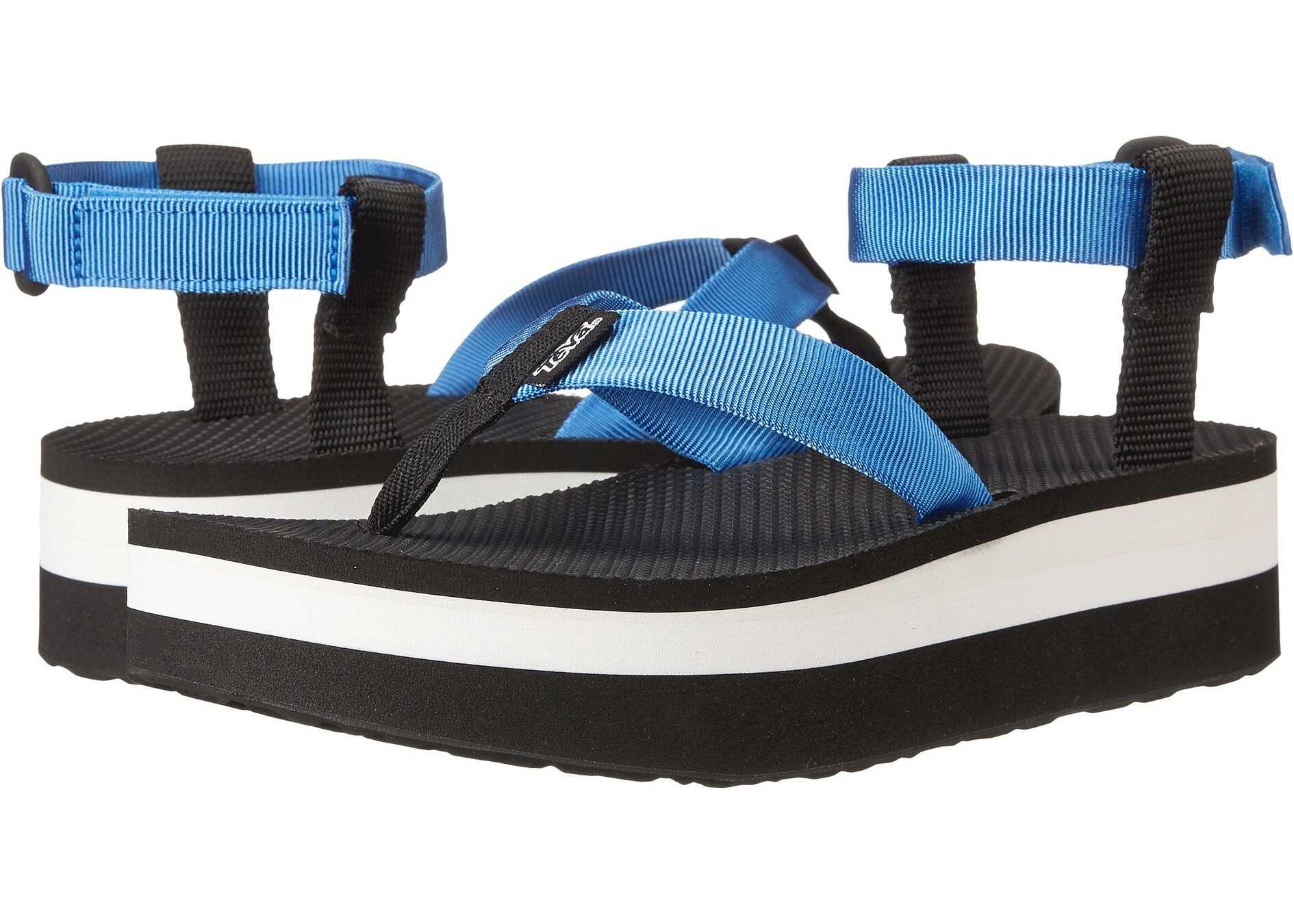Teva Flatform Sandal French Blue