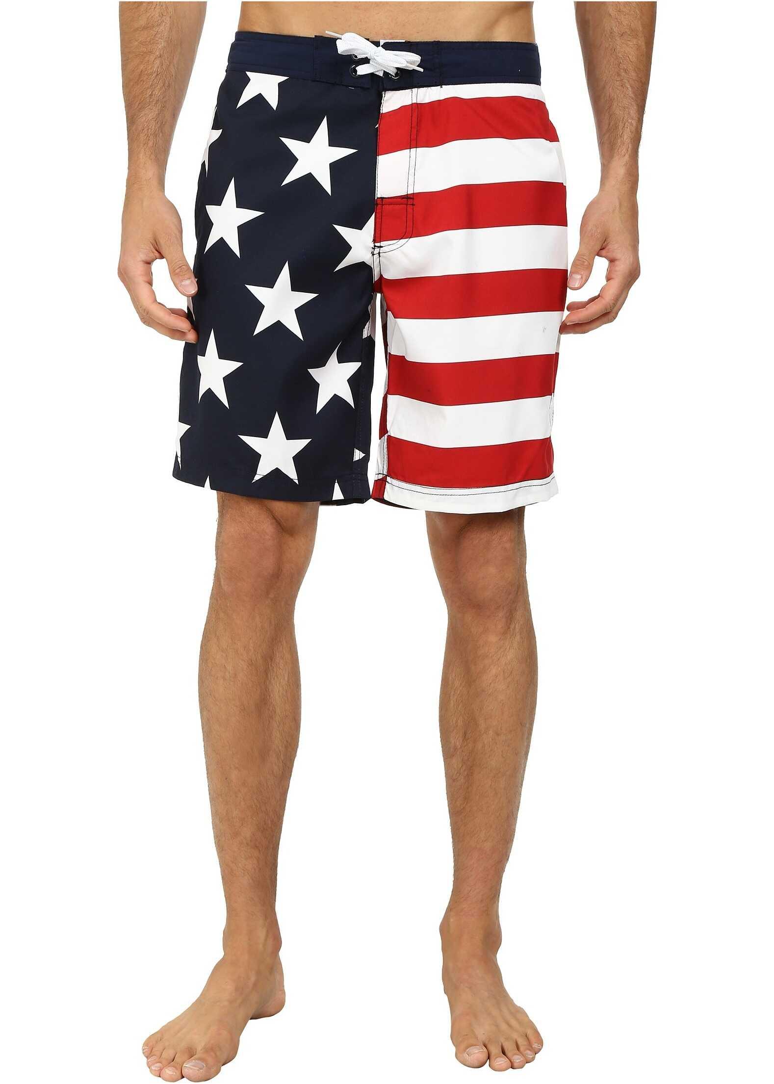 U.S. POLO ASSN. Americana Boardshorts Classic Navy