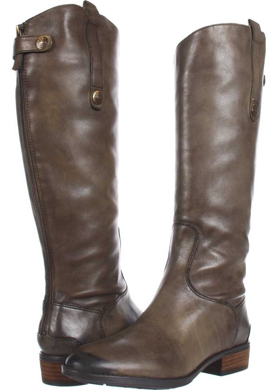 Sam Edelman Penny Leather Riding Boot Olive