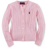 Pulovere Cable-Knit Cotton Cardigan Fete
