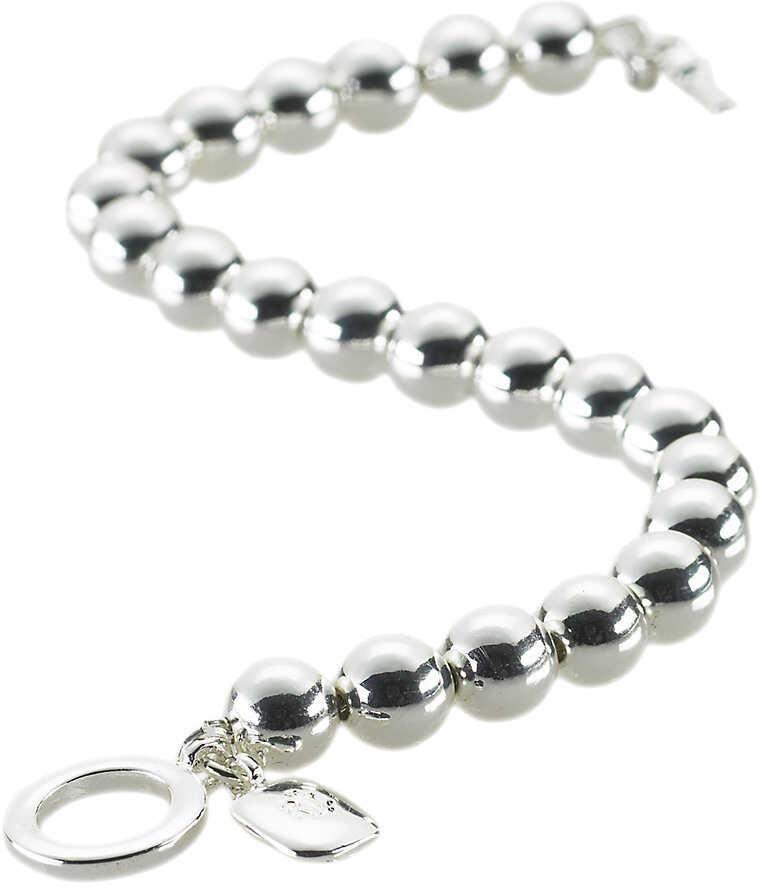Ralph Lauren Silver-Plated Ball Bracelet Silver