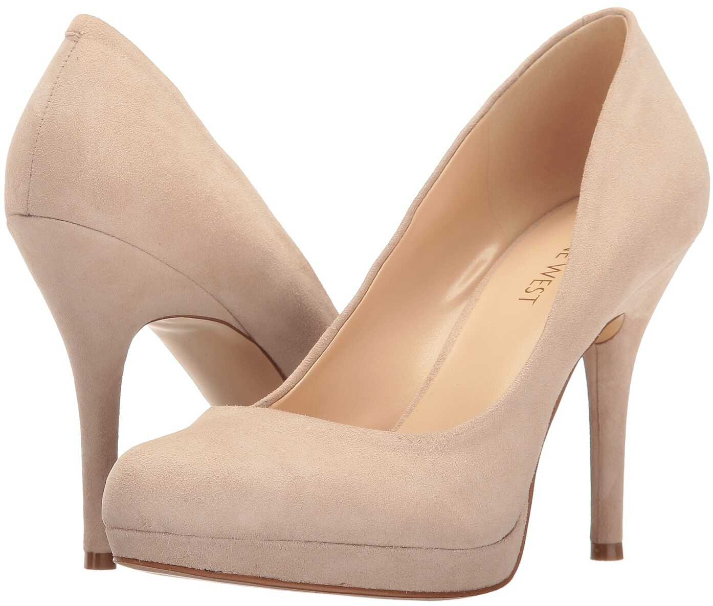 Nine West Kristal Natural Suede