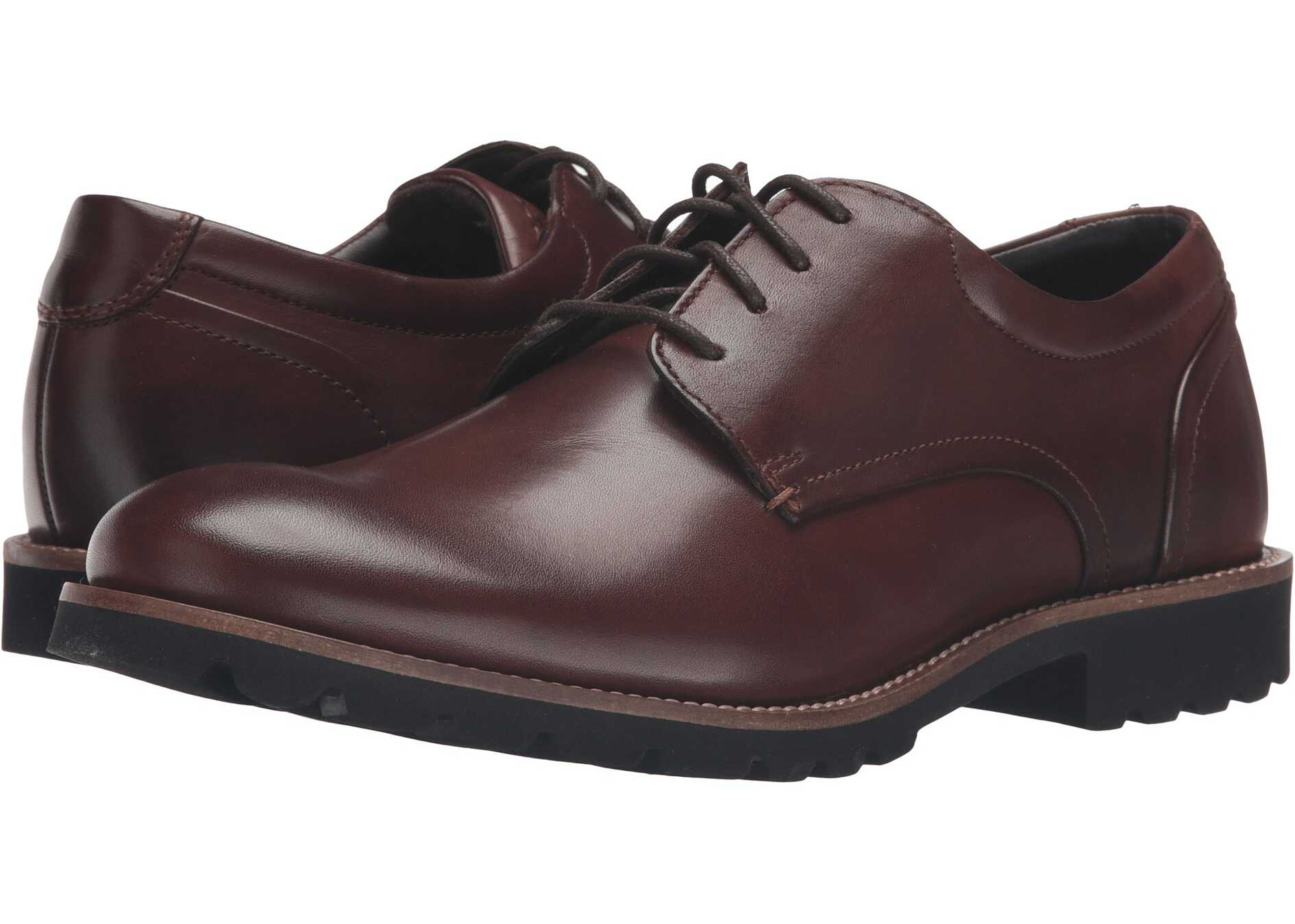 Rockport Sharp & Ready Colben Brown Burnished Leather