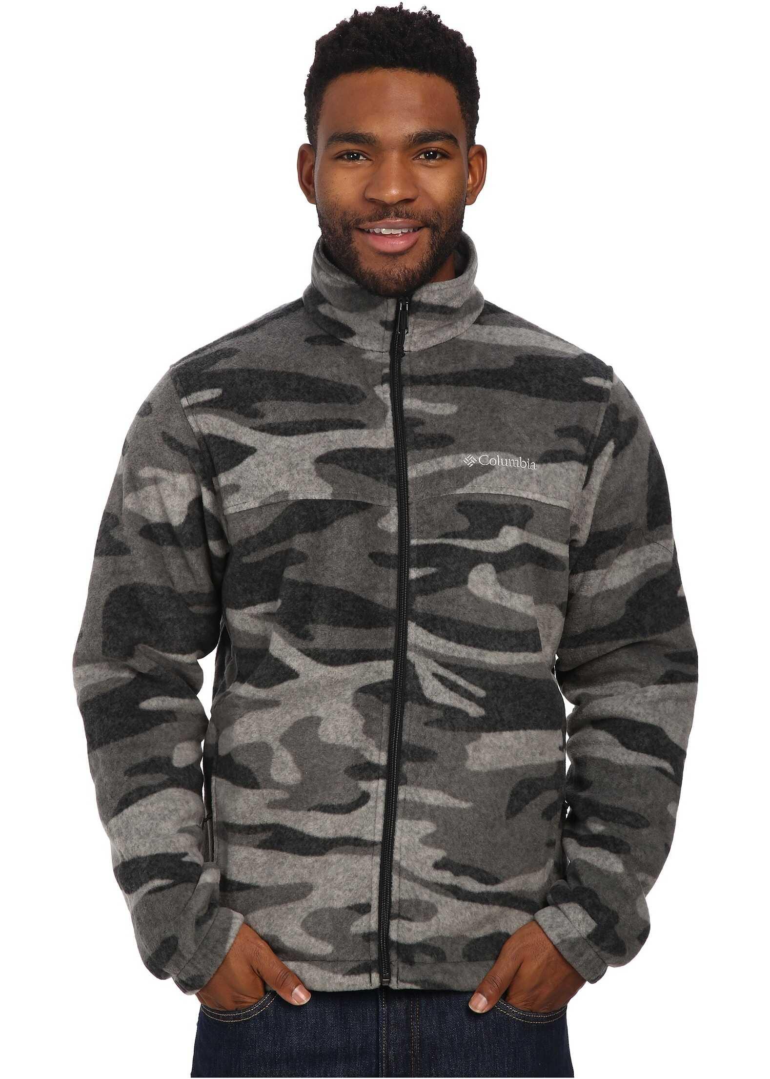 Columbia Steens Mountain™ Print Jacket Black Tweed Camo