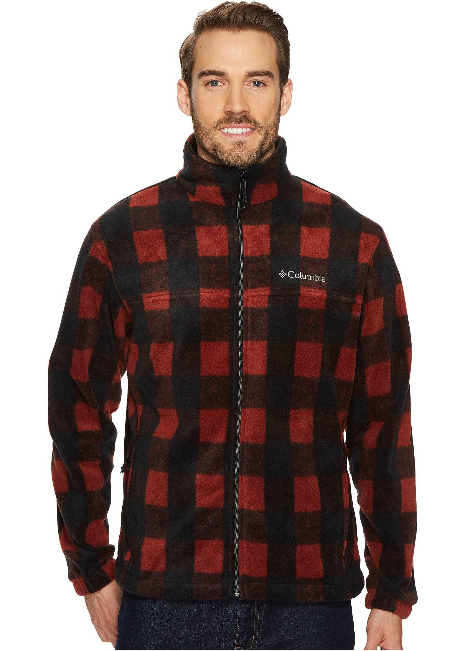 Columbia Steens Mountain™ Print Jacket Deep Rust Plaid