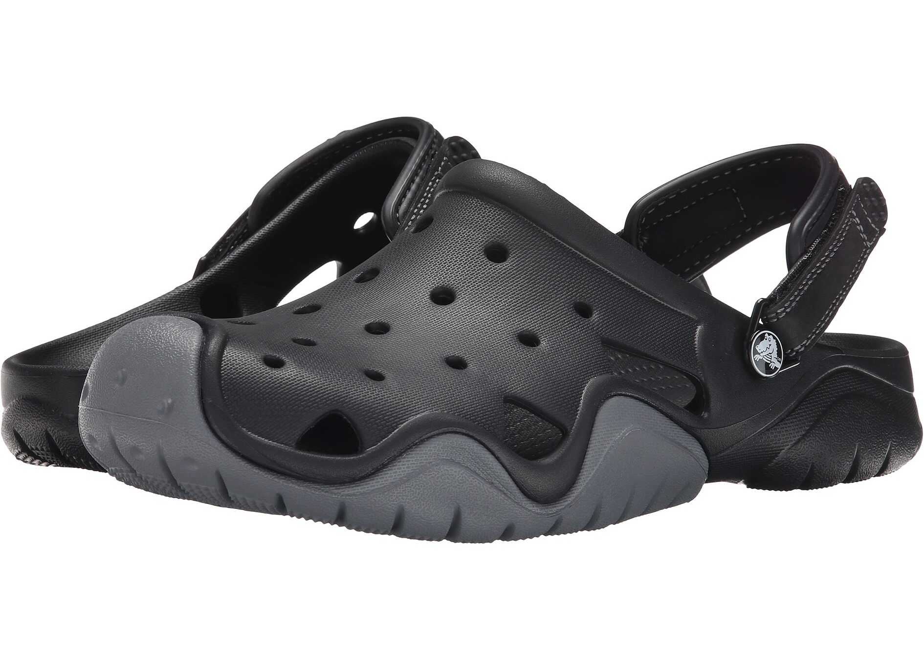 Crocs Swiftwater Clog Black/Charcoal