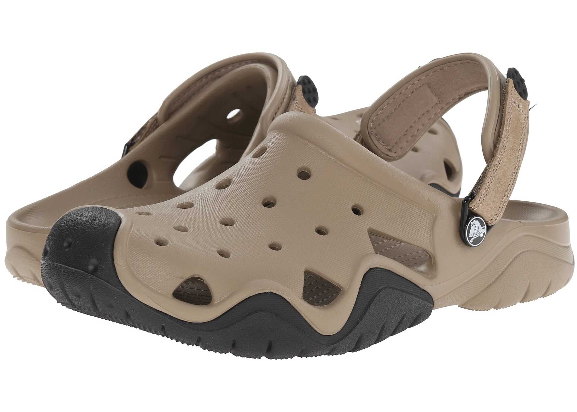 Crocs Swiftwater Clog Khaki/Black