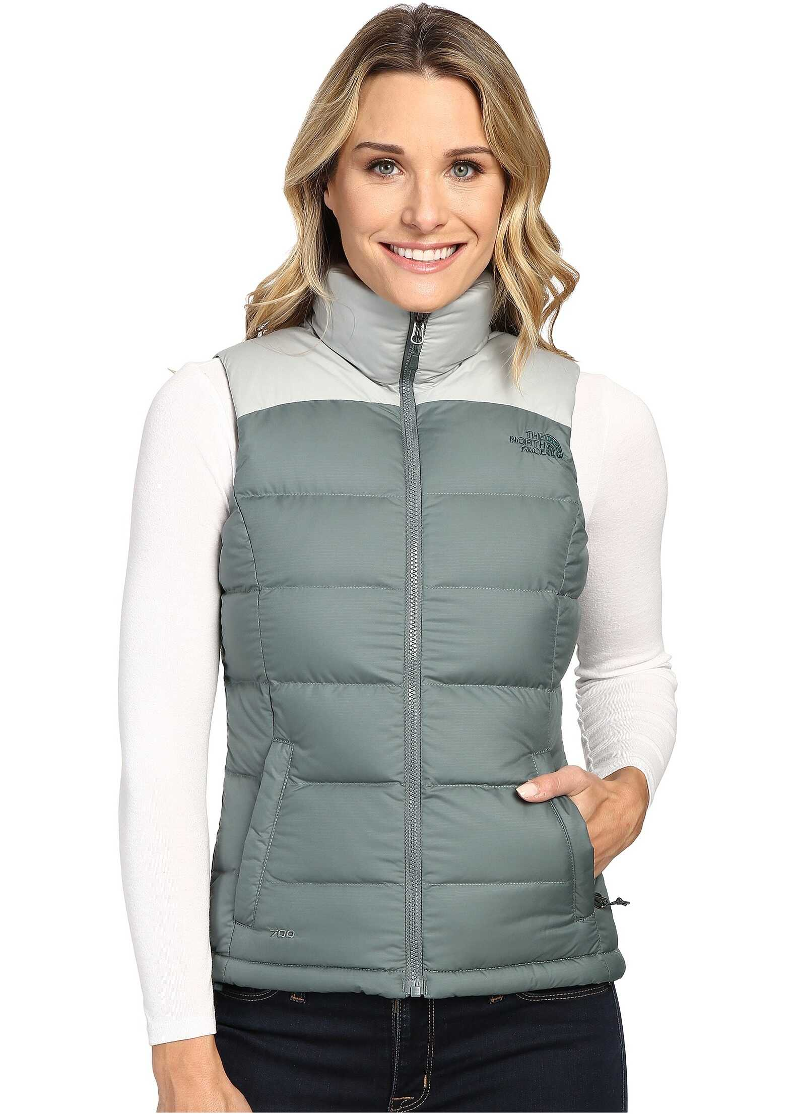 The North Face Nuptse 2 Vest Balsam Green/Wrought Iron (Prior Season)