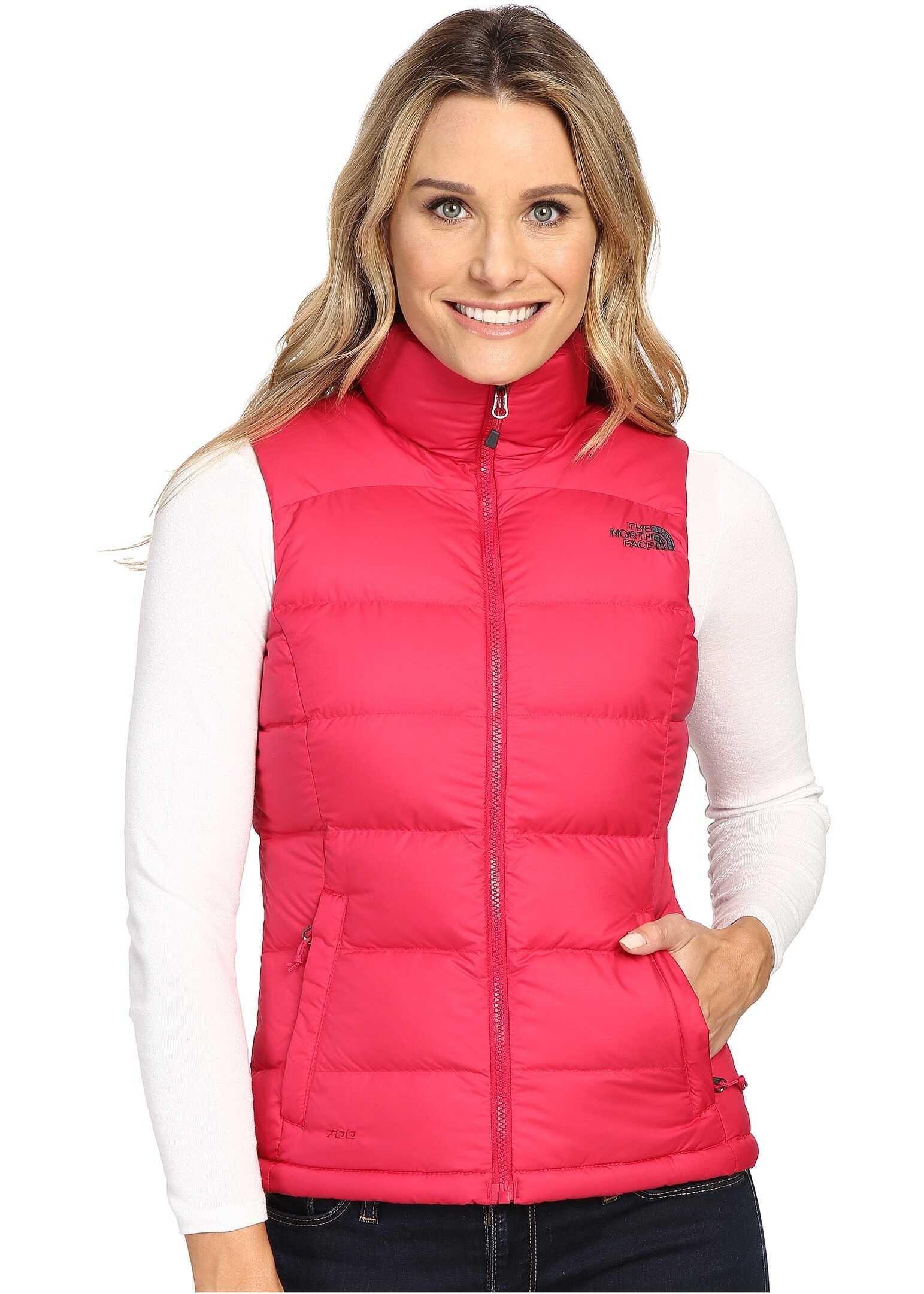 The North Face Nuptse 2 Vest Cerise Pink (Prior Season)