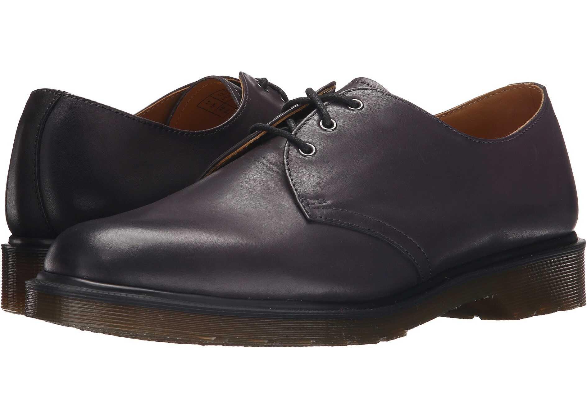 Dr. Martens 1461 3-Eye Shoe Charcoal Temperley